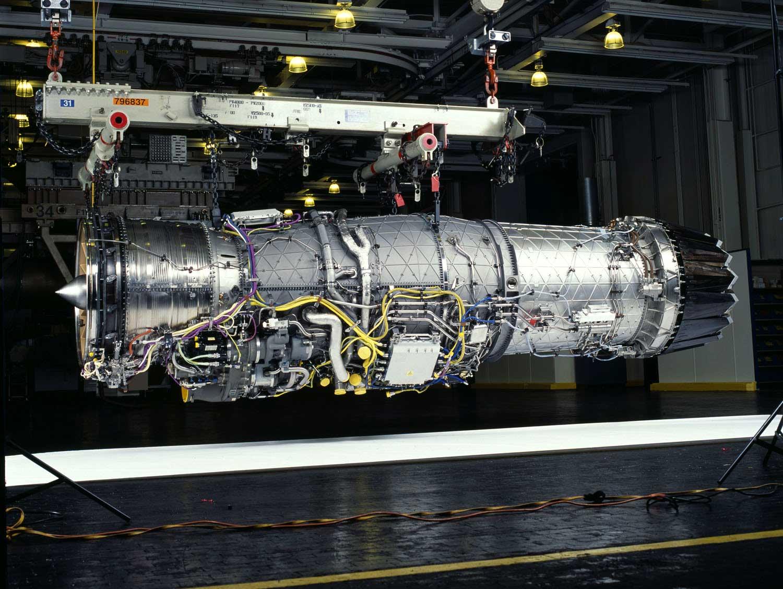 F-16 Titanium Pratt /& Whitney Aircraft Jet F100 Turbine Engine Blade