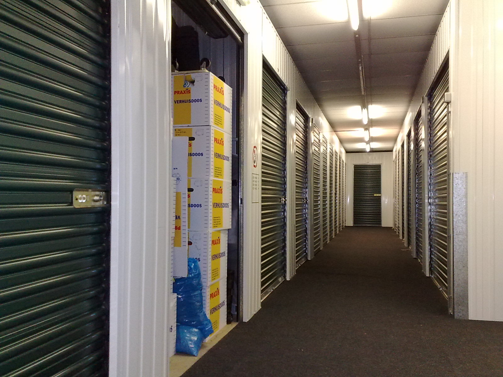 inside a Gold Coast storage facility