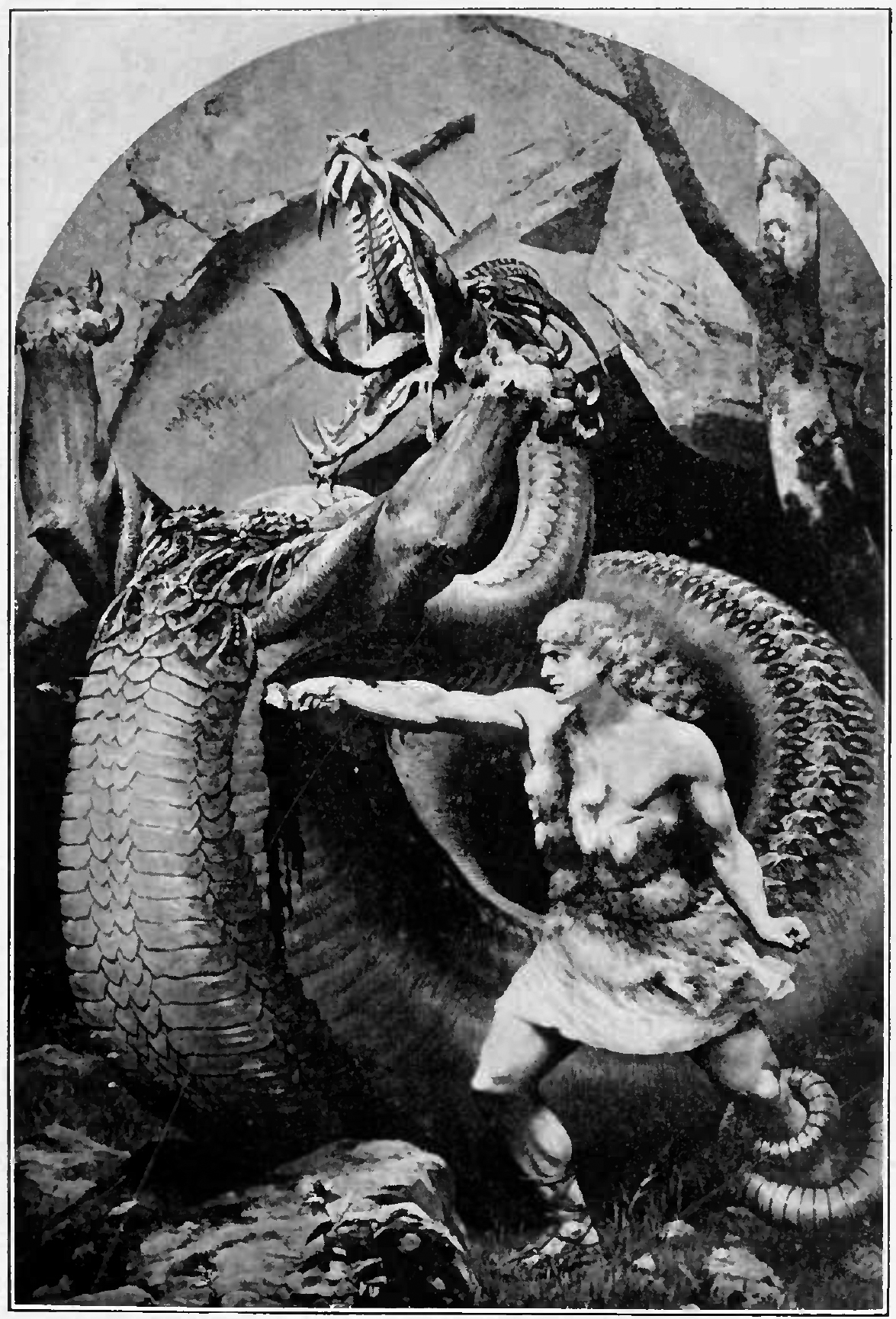 file siegfried fighting the dragon jpg wikimedia commons
