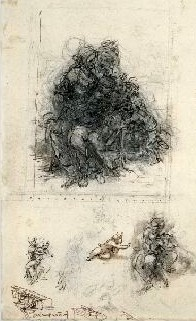 Datei:Sketches for the Virgin and Child with Saint Anne.jpg