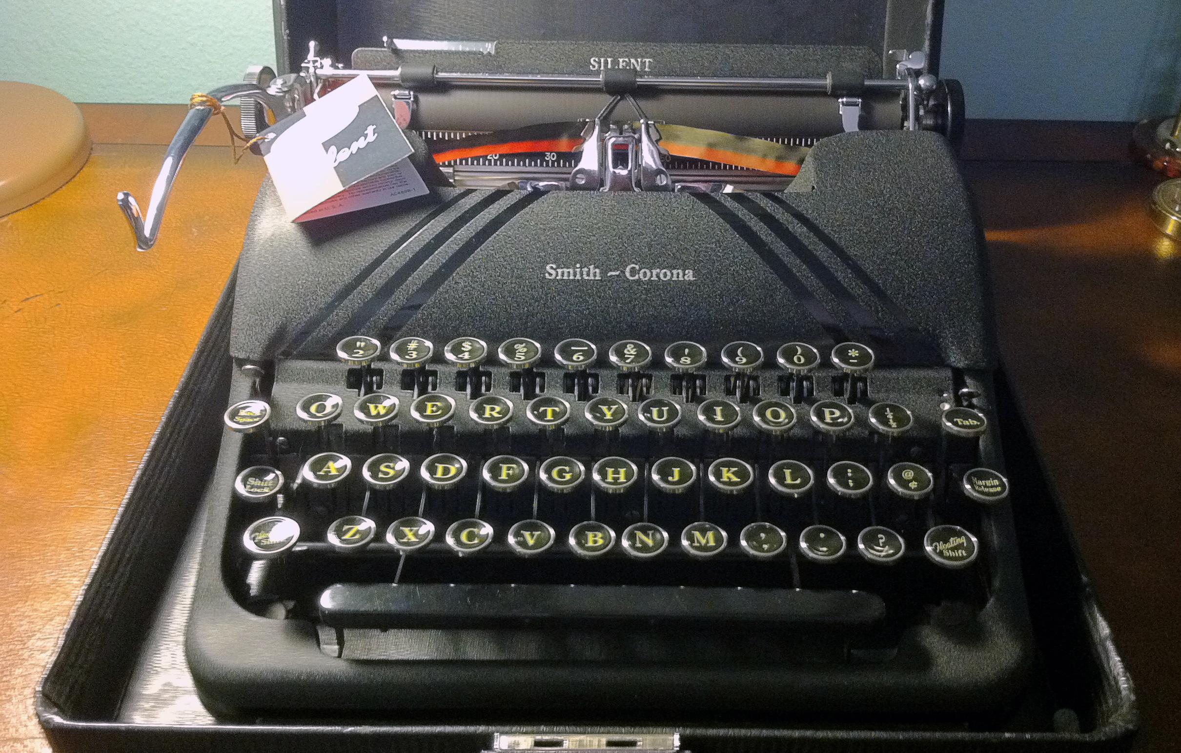 smith corona typewriter serial number