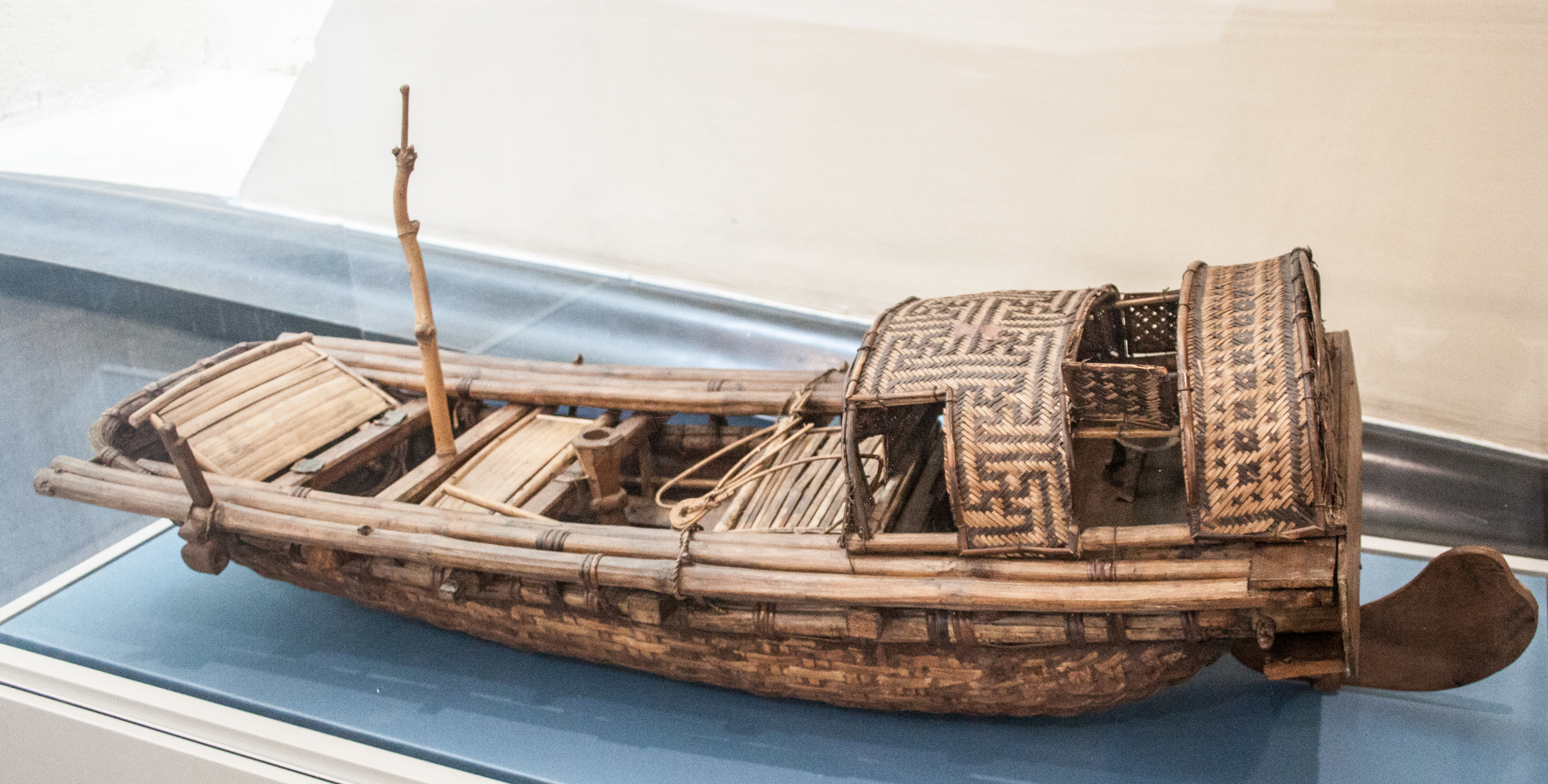 File Southeast Asia River Boat Model In The Vatican