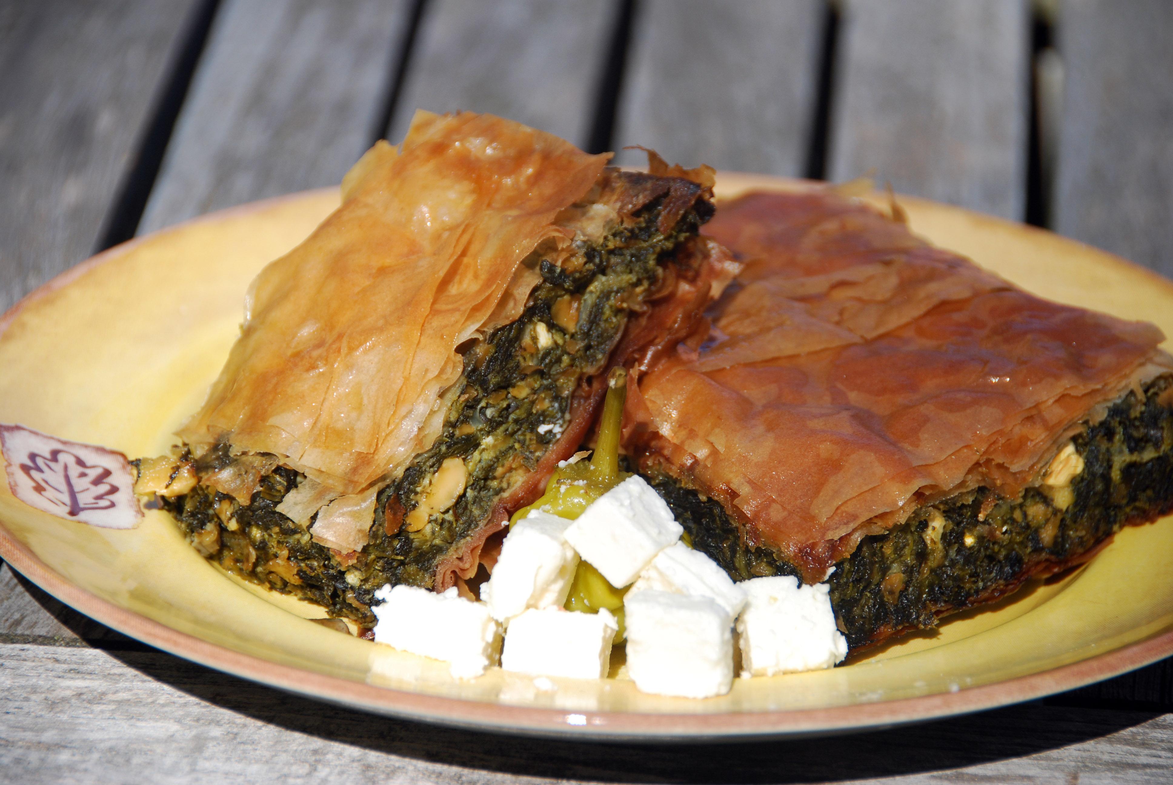 File spanikopita greek wikimedia commons for About greek cuisine