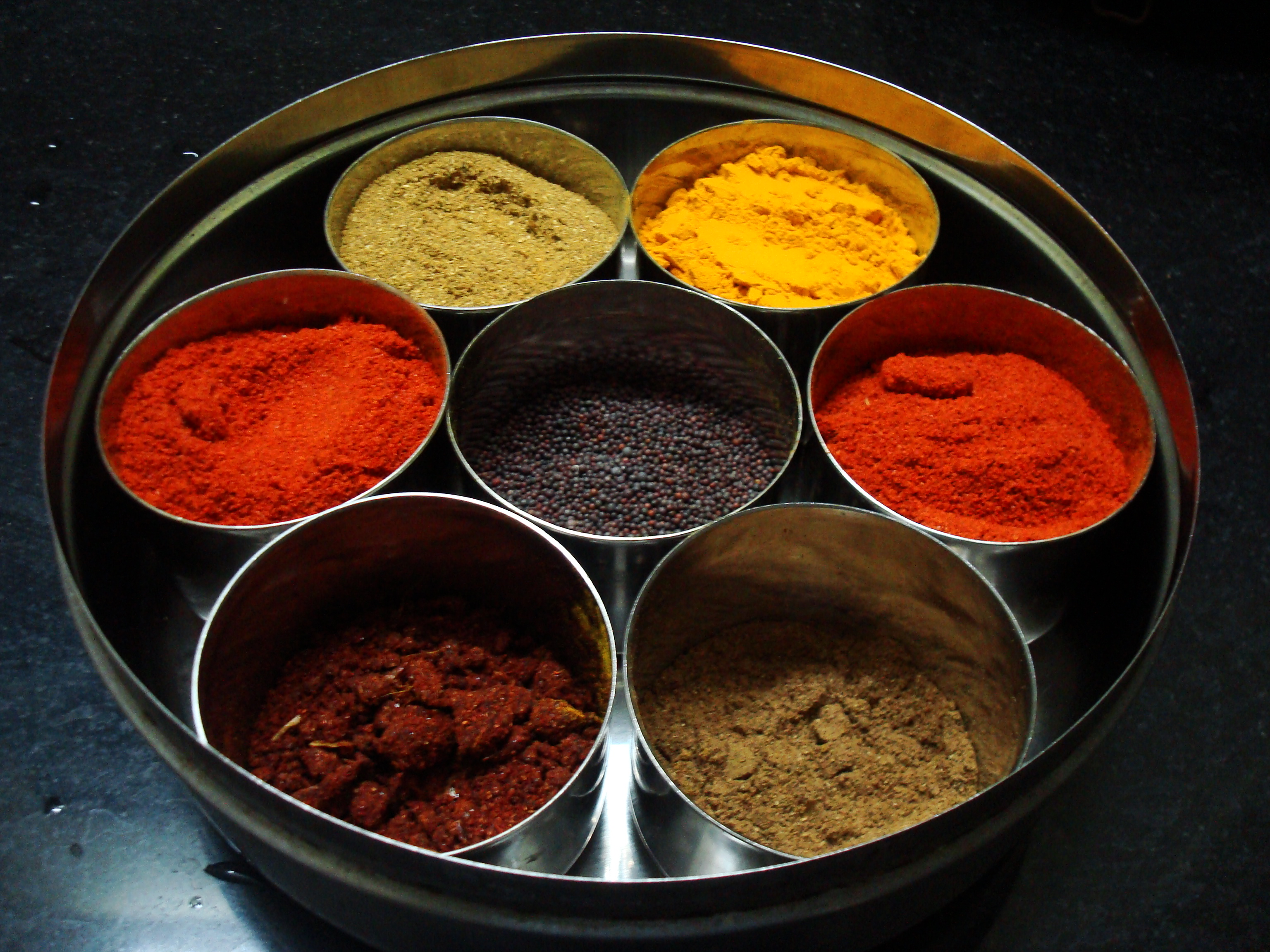 Turmeric & other spices