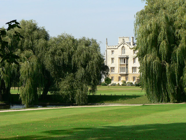St John's College from The Backs - Cambridge - geograph.org.uk - 1433301