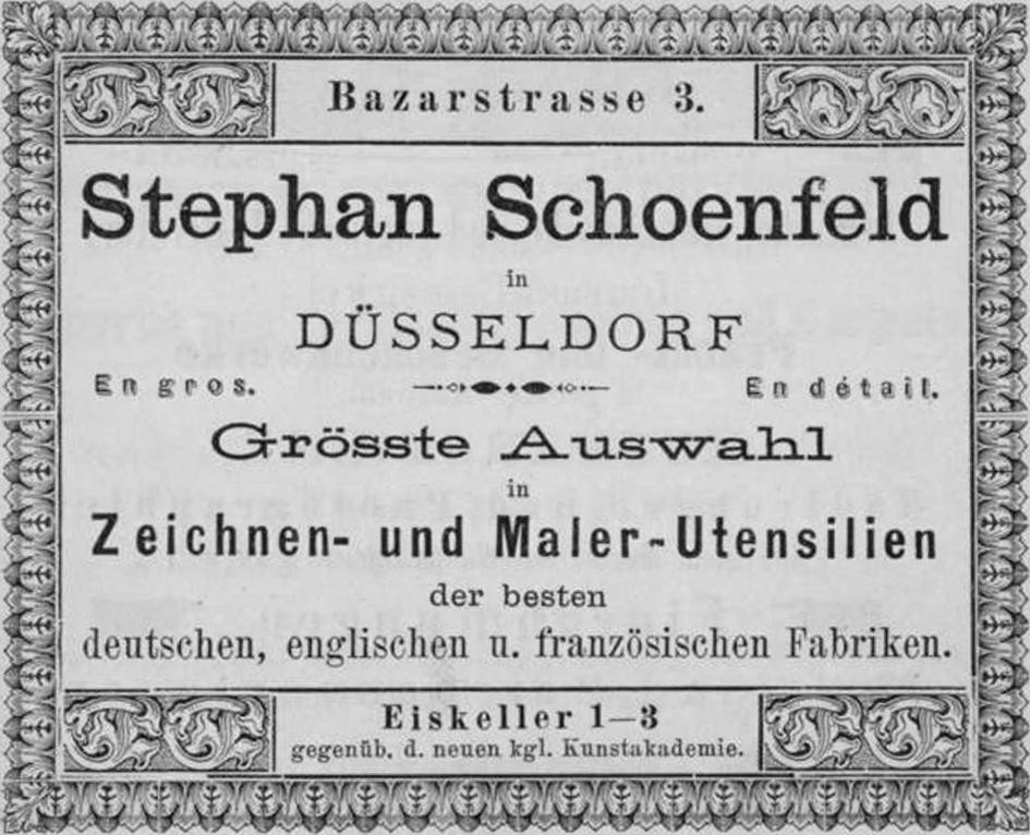 File Stephan Schoenfeld In Dusseldorf Zeichnen Und Maler