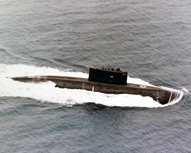俄海军基洛级常规潜艇