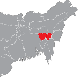 Sylheti speaking zone