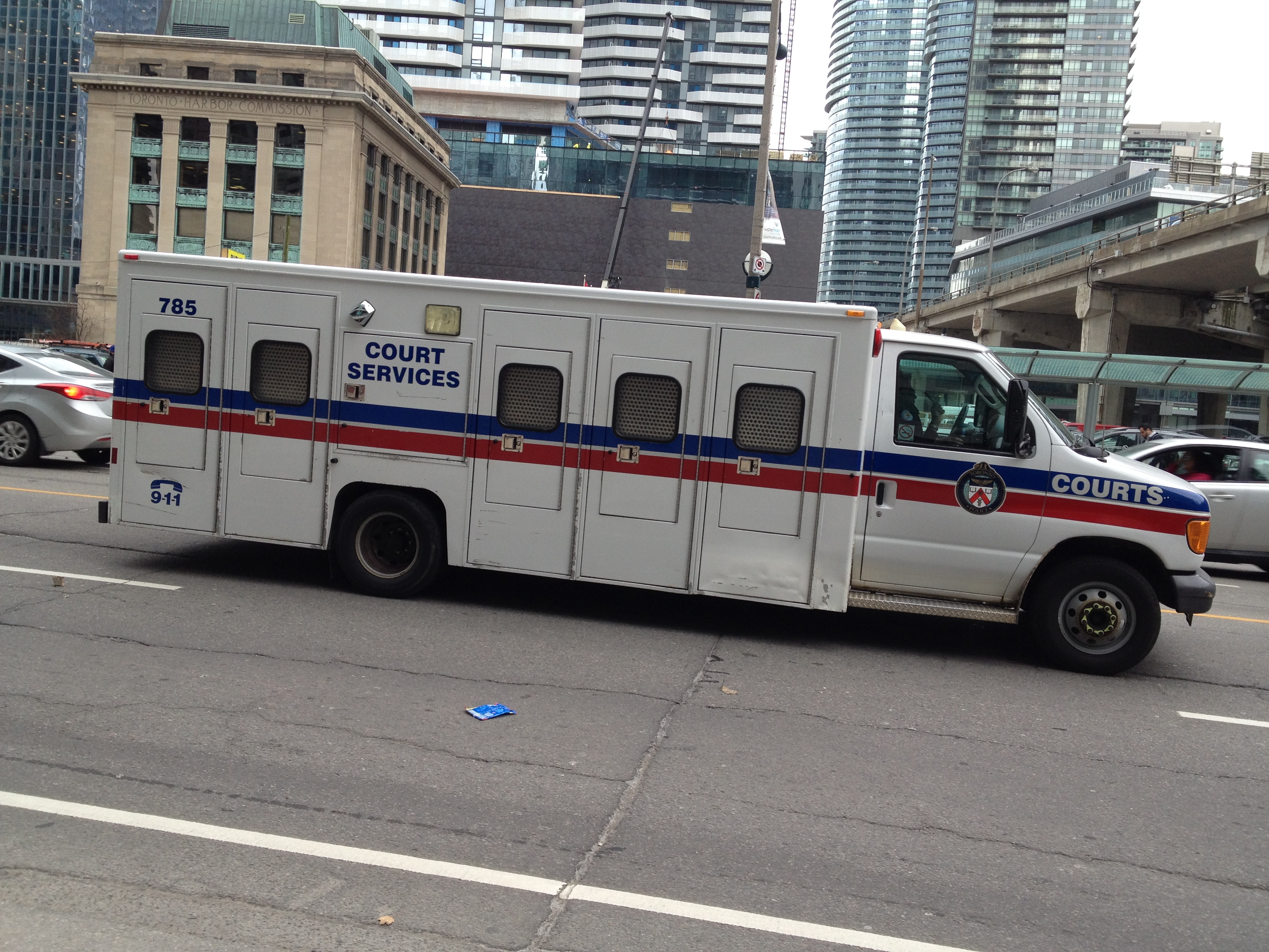 Toronto Police Service Prisoner Transport Van Anyone Know The Model
