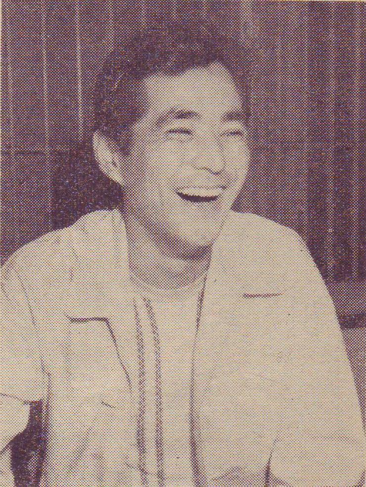 Tatsuya Mihashi in 1954
