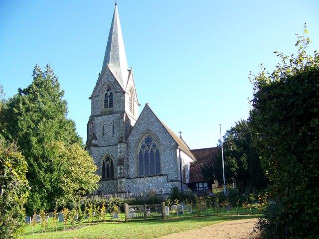 The Church of St Mary the Virgin, Alderbury