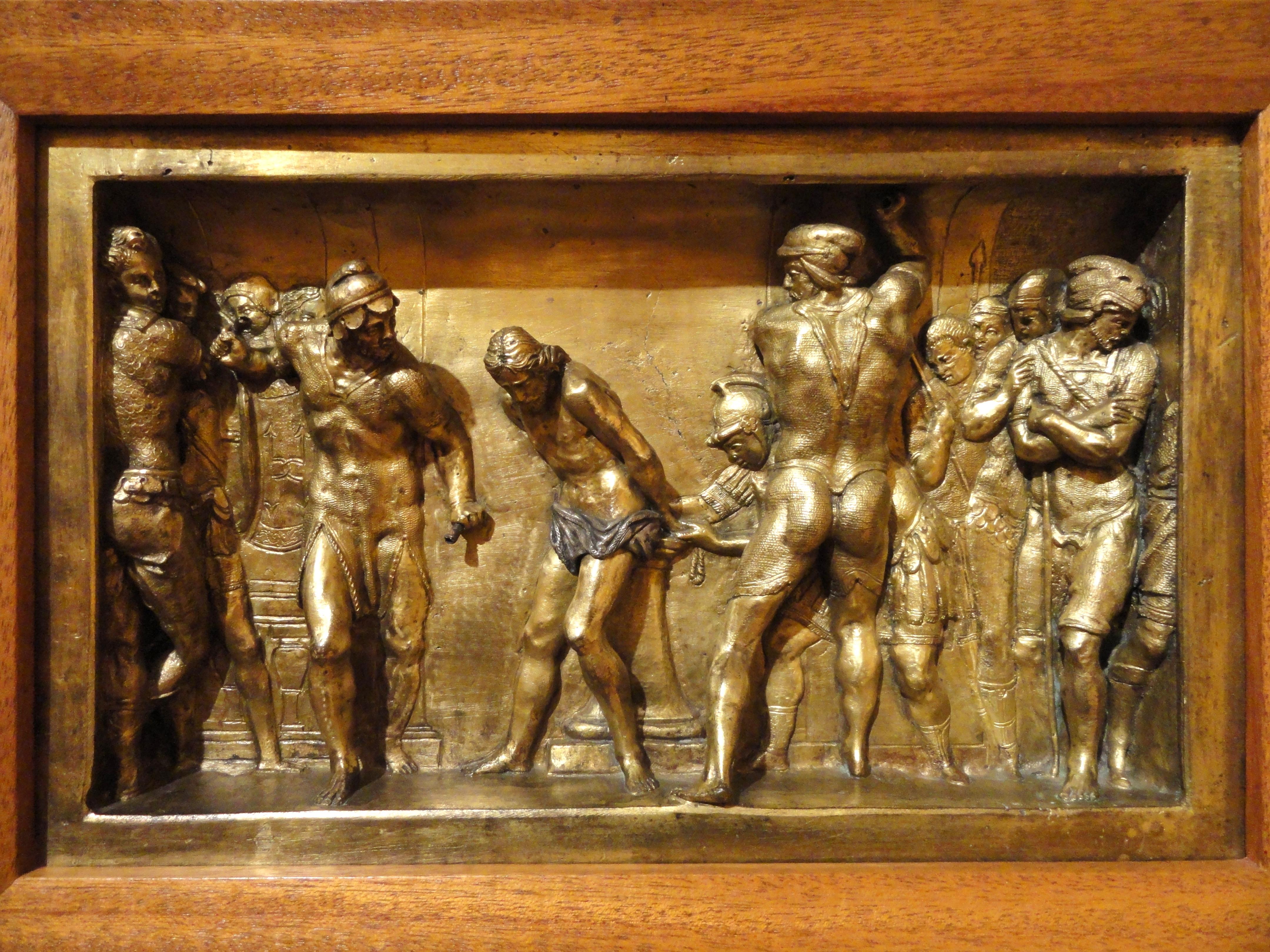 File:The Flagellation of Christ by Daniele da Volterra ...