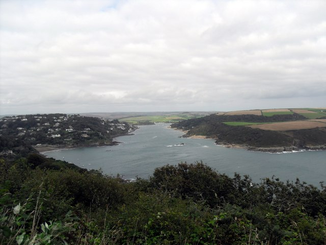 The Salcombe Estuary from Sharp Tor - geograph.org.uk - 1464626