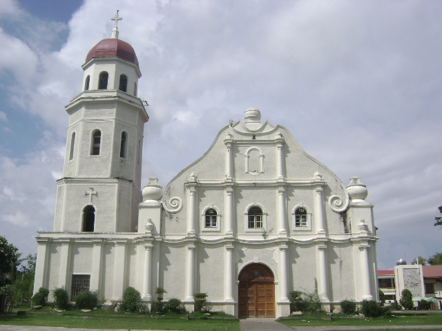 The Santa Catalina de Alejandria Church in Tayum, Abra.JPG