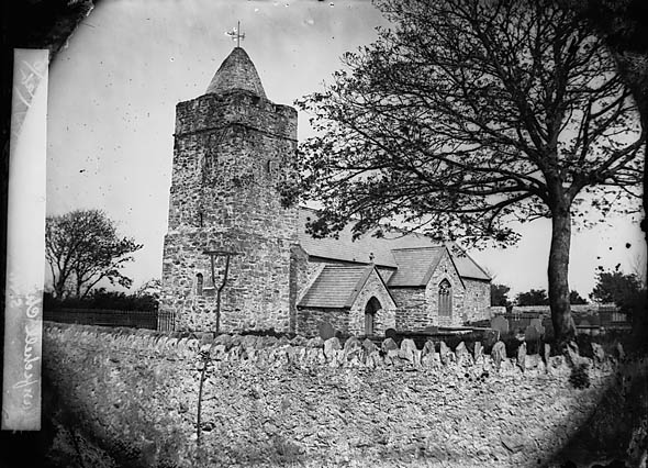 The church, Llanfechell