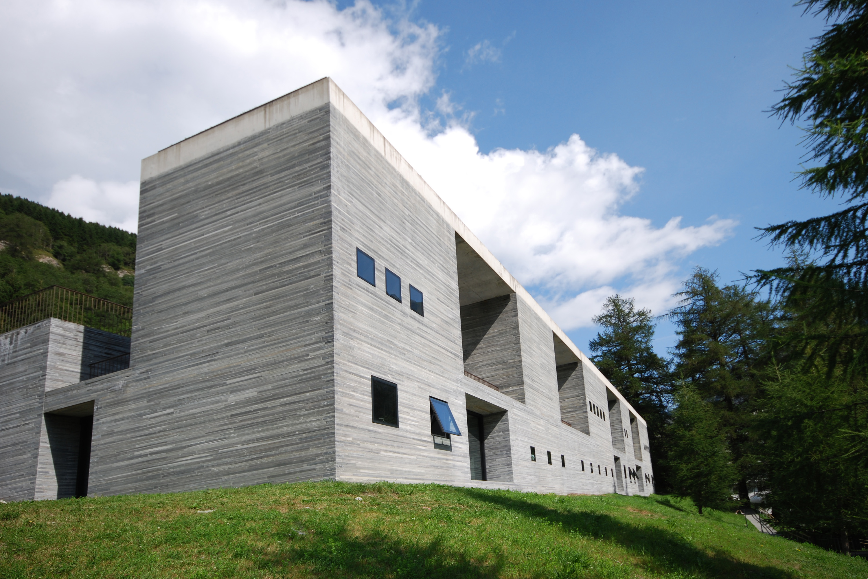 Therme vals wikiwand for Architecture suisse