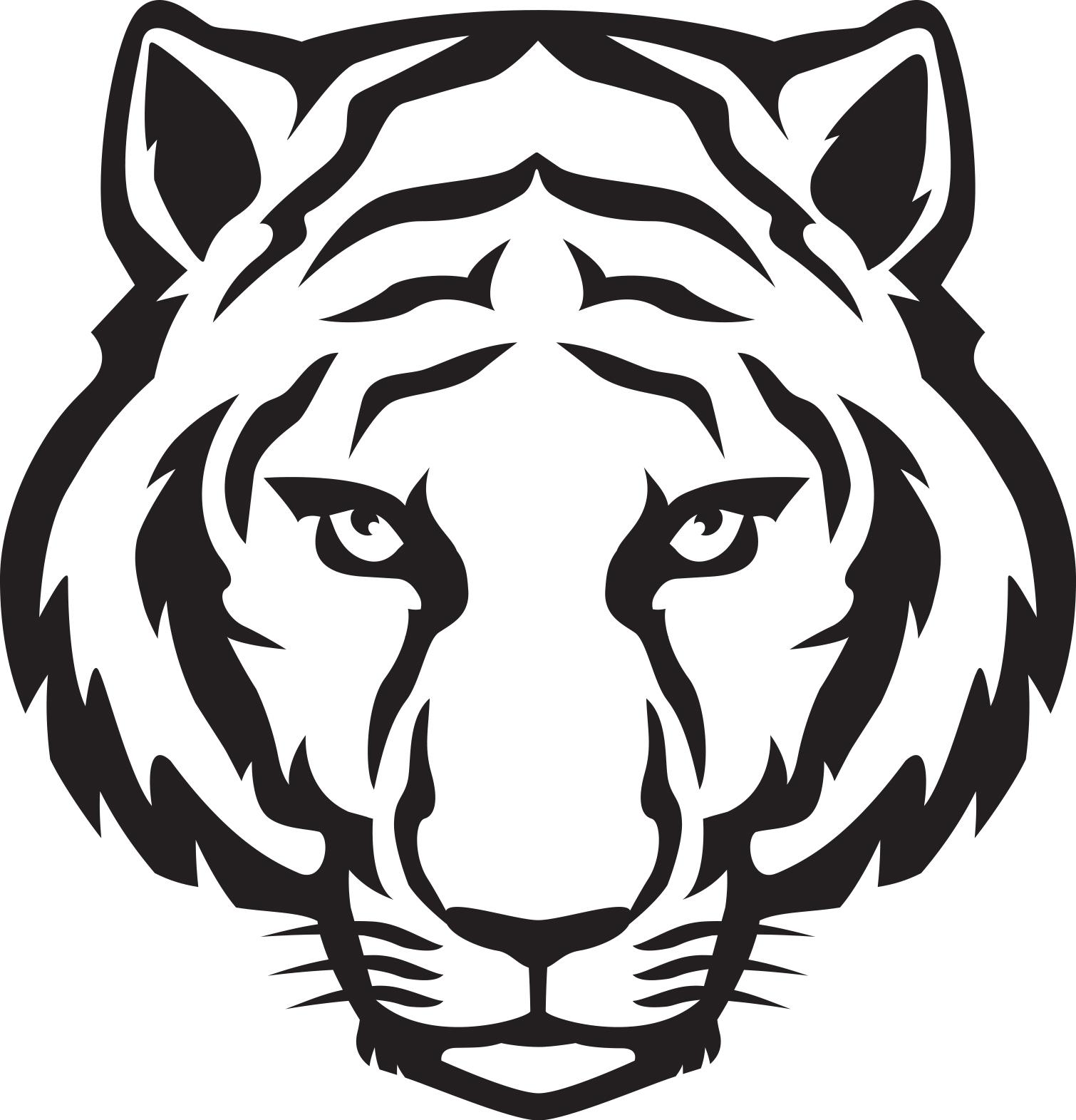 file tiger cartoon face jpg wikipedia rh en m wikipedia org cartoon tiger face paint cartoon tiger face images