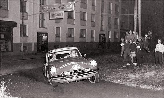 Timo Korpivaara - 1956 Rally Finland