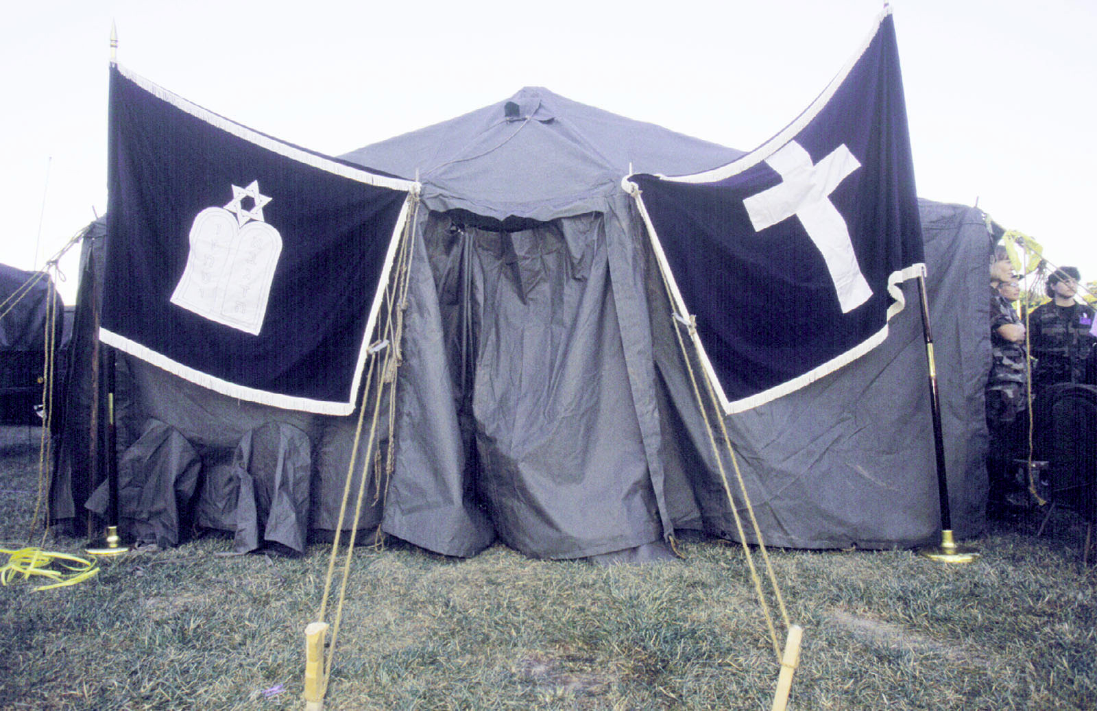 US Navy 010912-N-3235P-024 Temporary chapel on Pentagon grounds