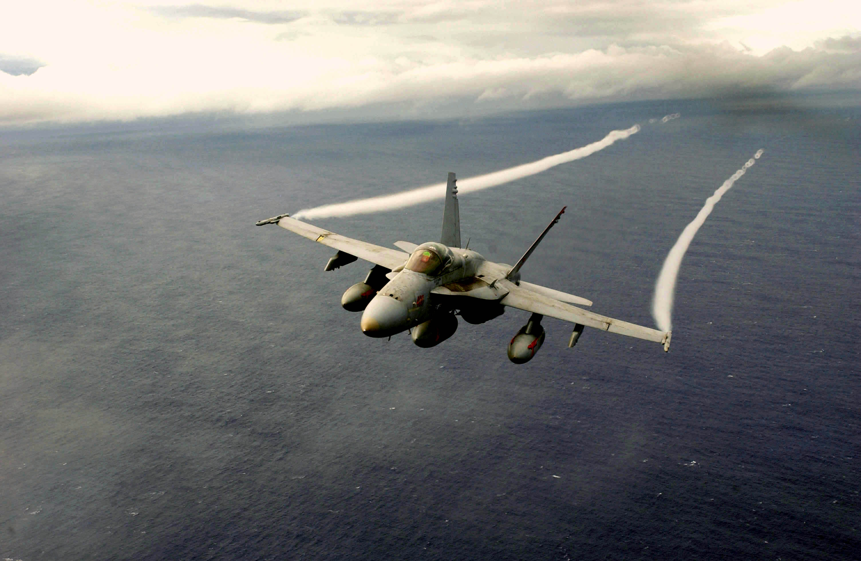 File:US Navy 031025-N-6536T-005 An F-A-18 Hornet assigned to