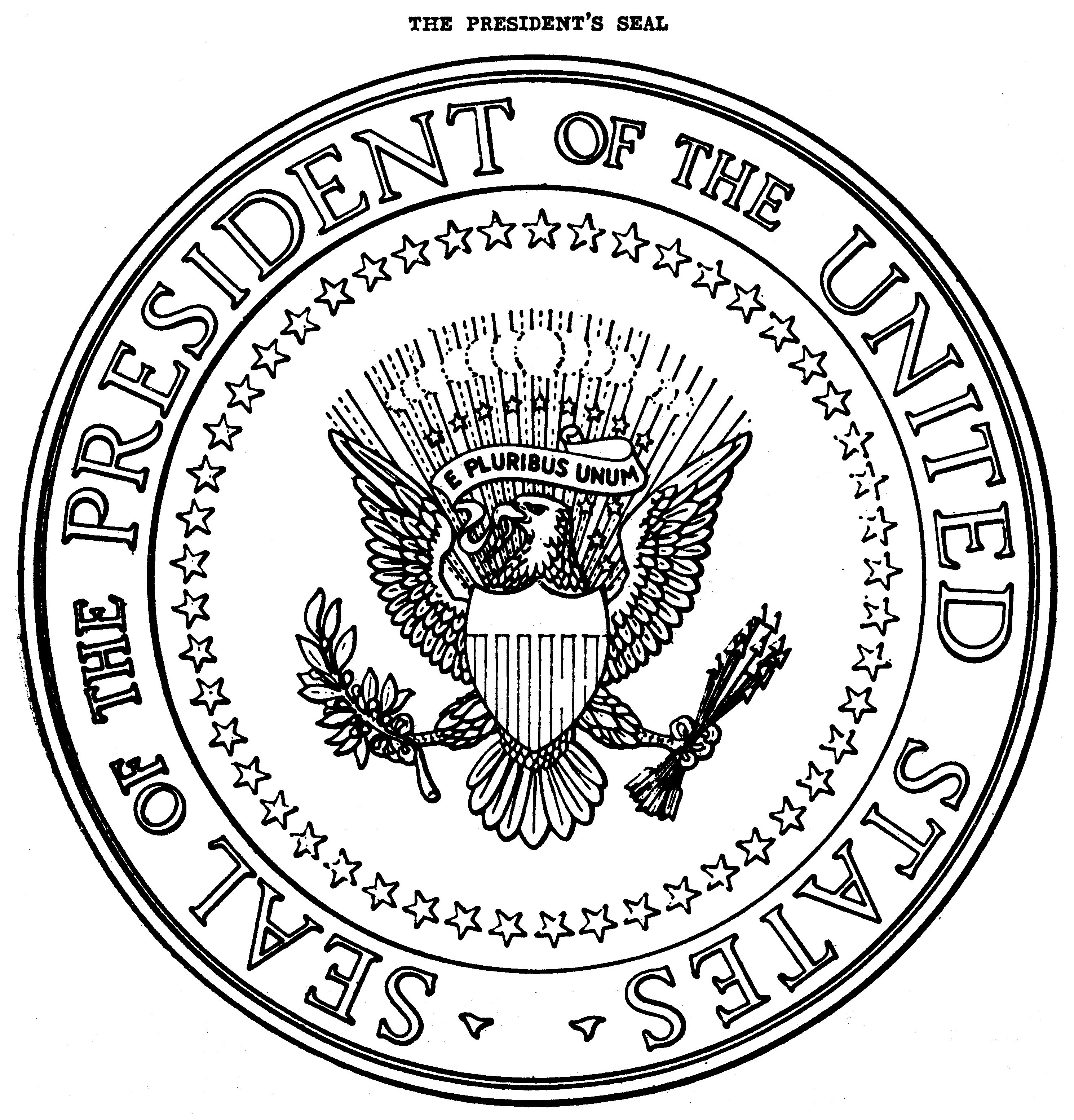 file us presidential seal 1959 eo picture jpg wikimedia commons rh commons wikimedia org Presidential Seal Coloring Page Make Your Own Presidential Seal