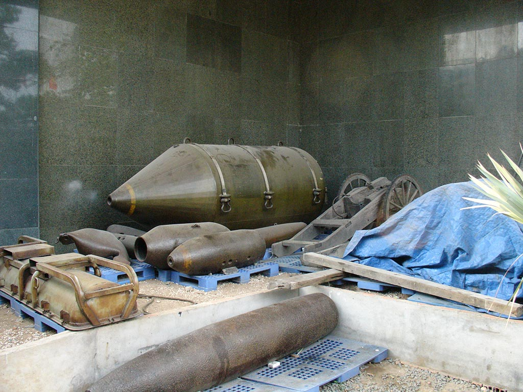 Unexploded Ordnance War Remn Mus Saigon.jpg