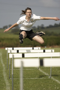 Track jump