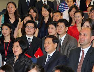English: Zhang Yesui(Chinese Ambassador to the...