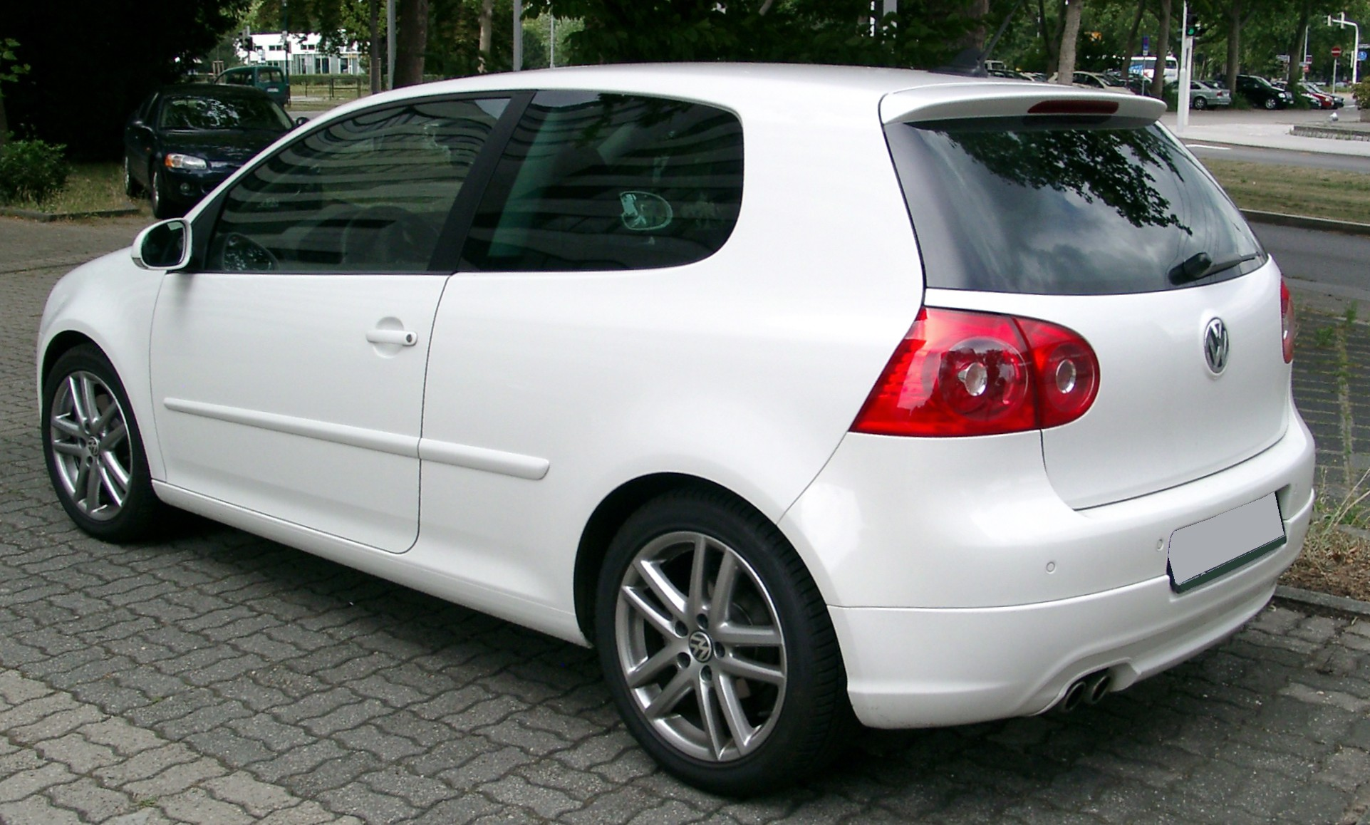 file vw golf v gt sport rear wikimedia commons. Black Bedroom Furniture Sets. Home Design Ideas