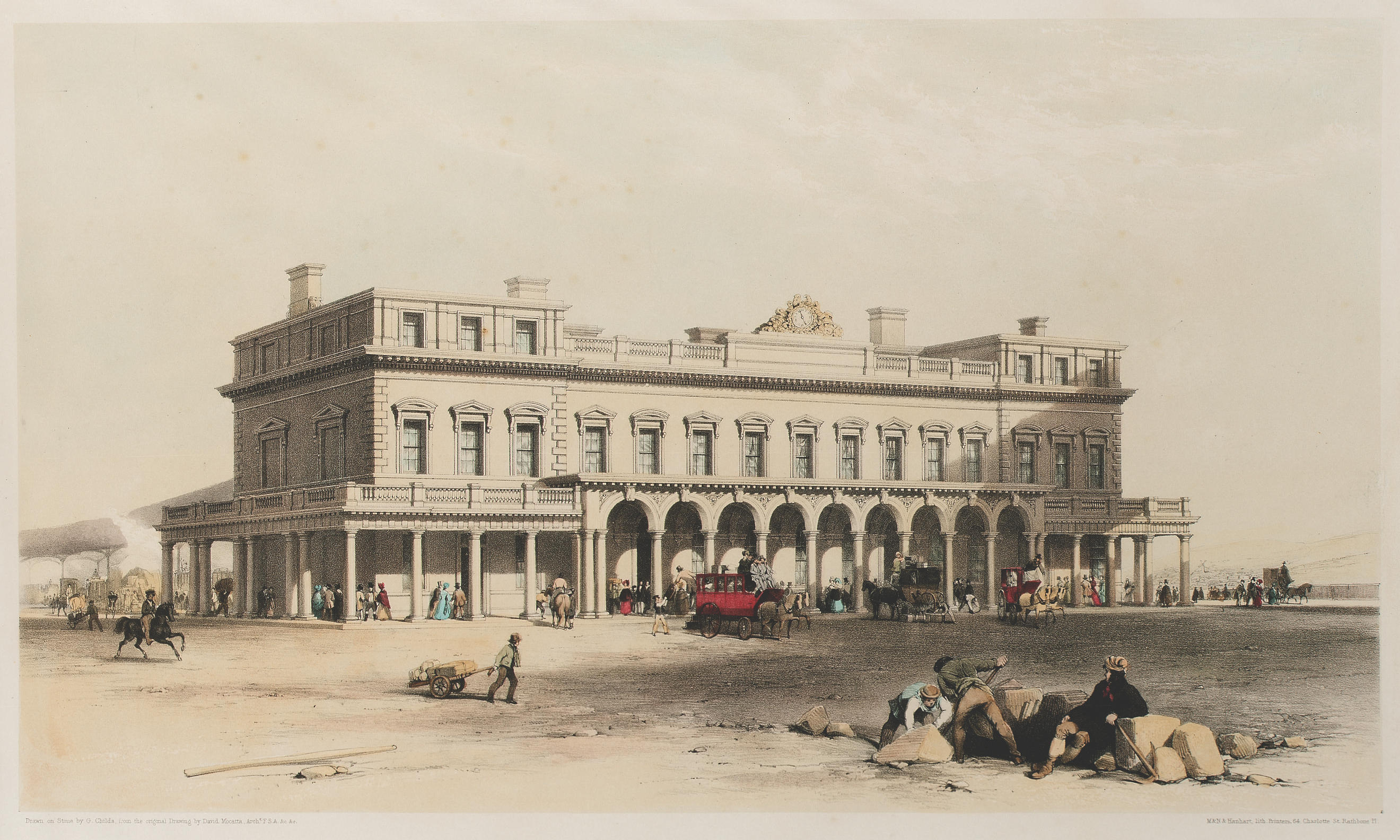 File:View of the Brighton Station 1841.jpg