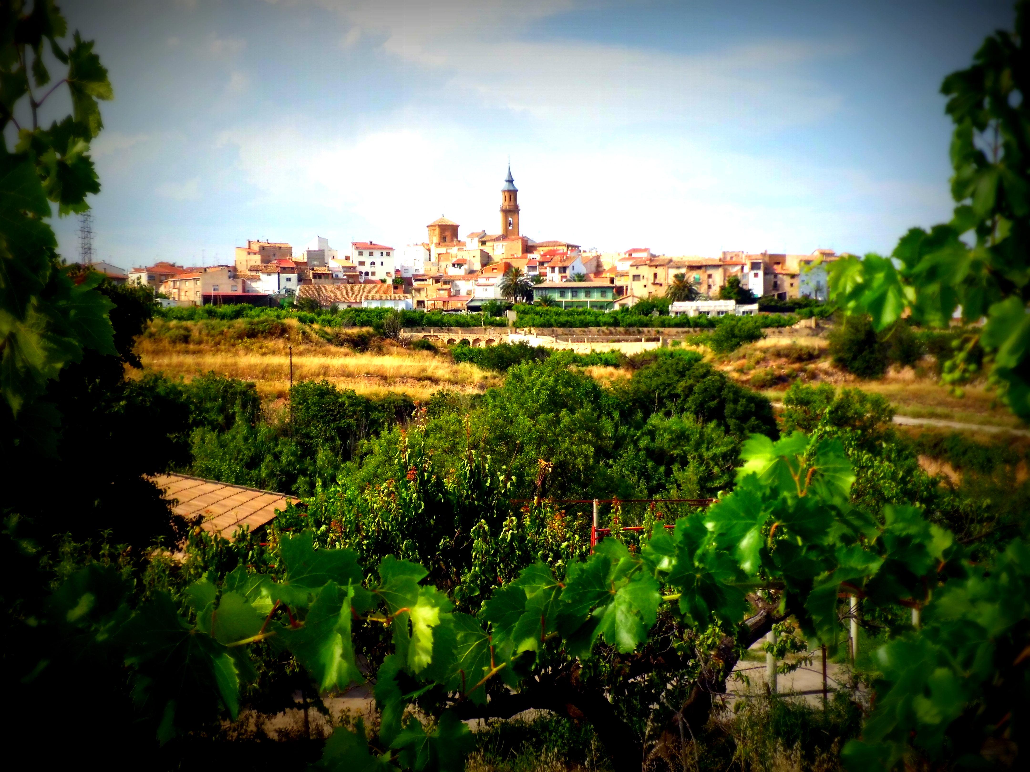 Calanda (Teruel), villa natal del cineasta.