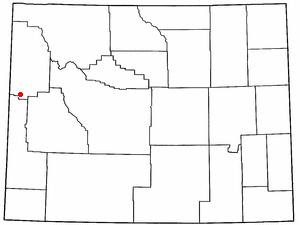 Hoback, Wyoming CDP in Wyoming, United States