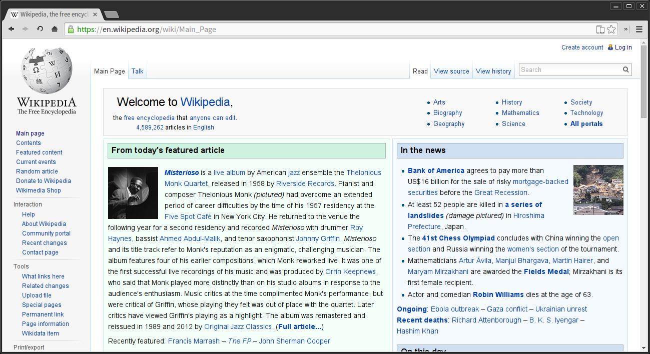File:Wikipedia Homepage Chromium Web browser 36.png - Wikimedia ...