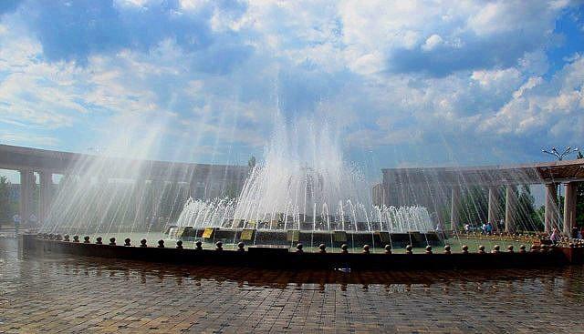 Фотосессия в парке Победы в Караганде