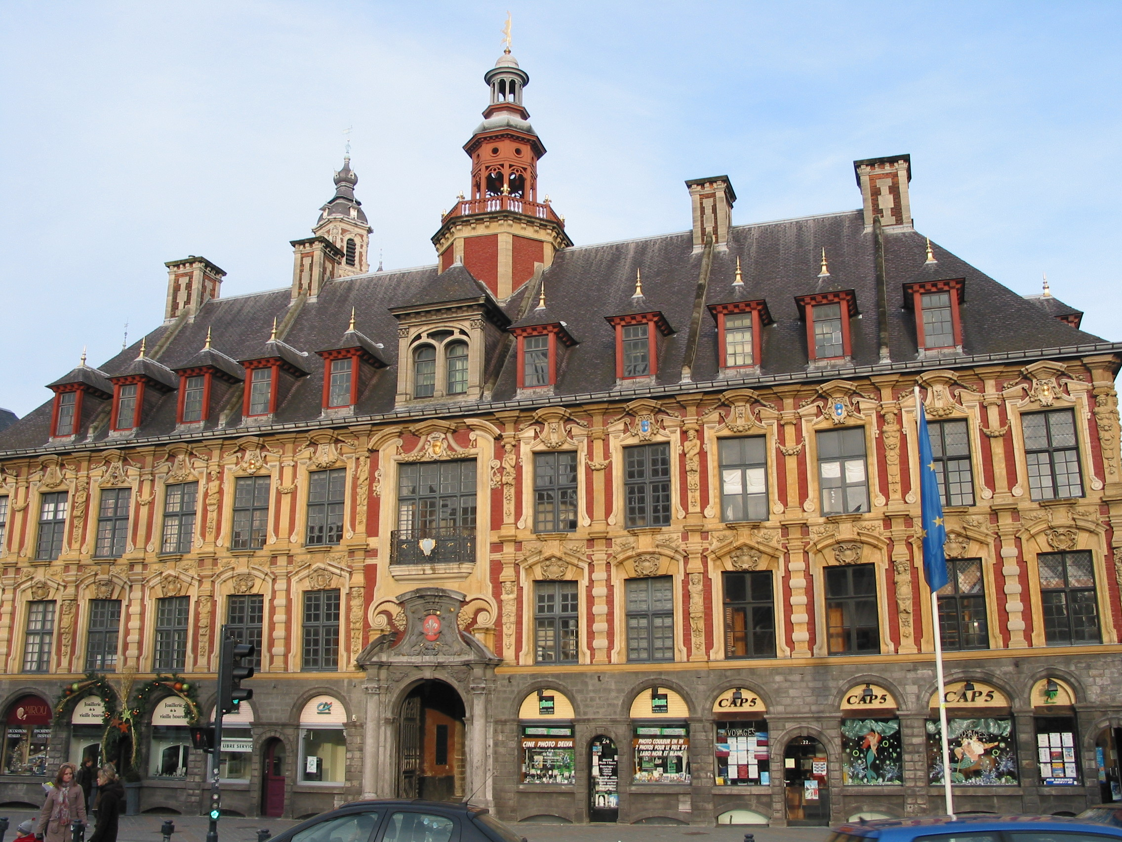 old stock exchange lille