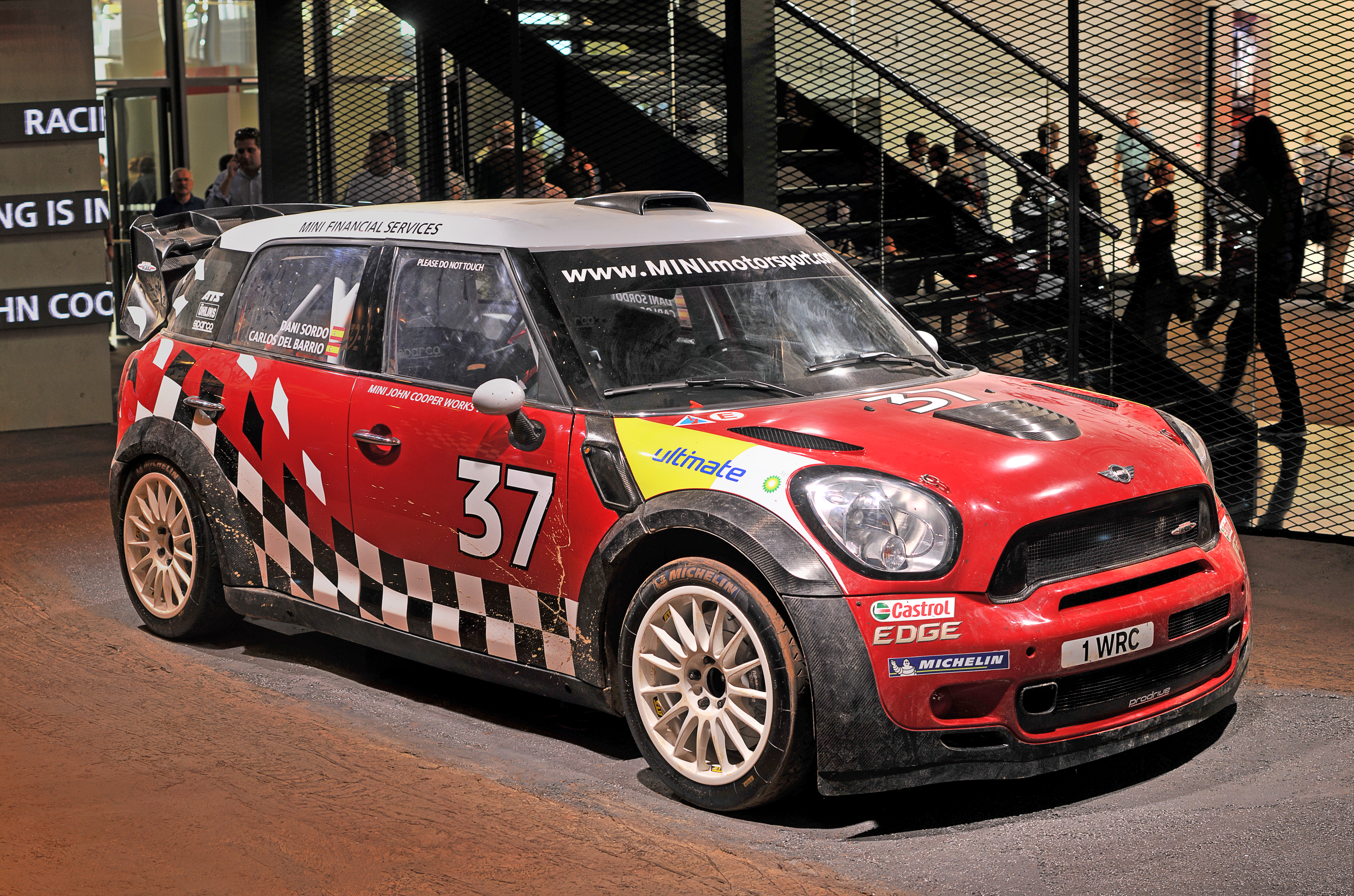 Mini John Cooper Works WRC Wikipedia, la enciclopedia libre