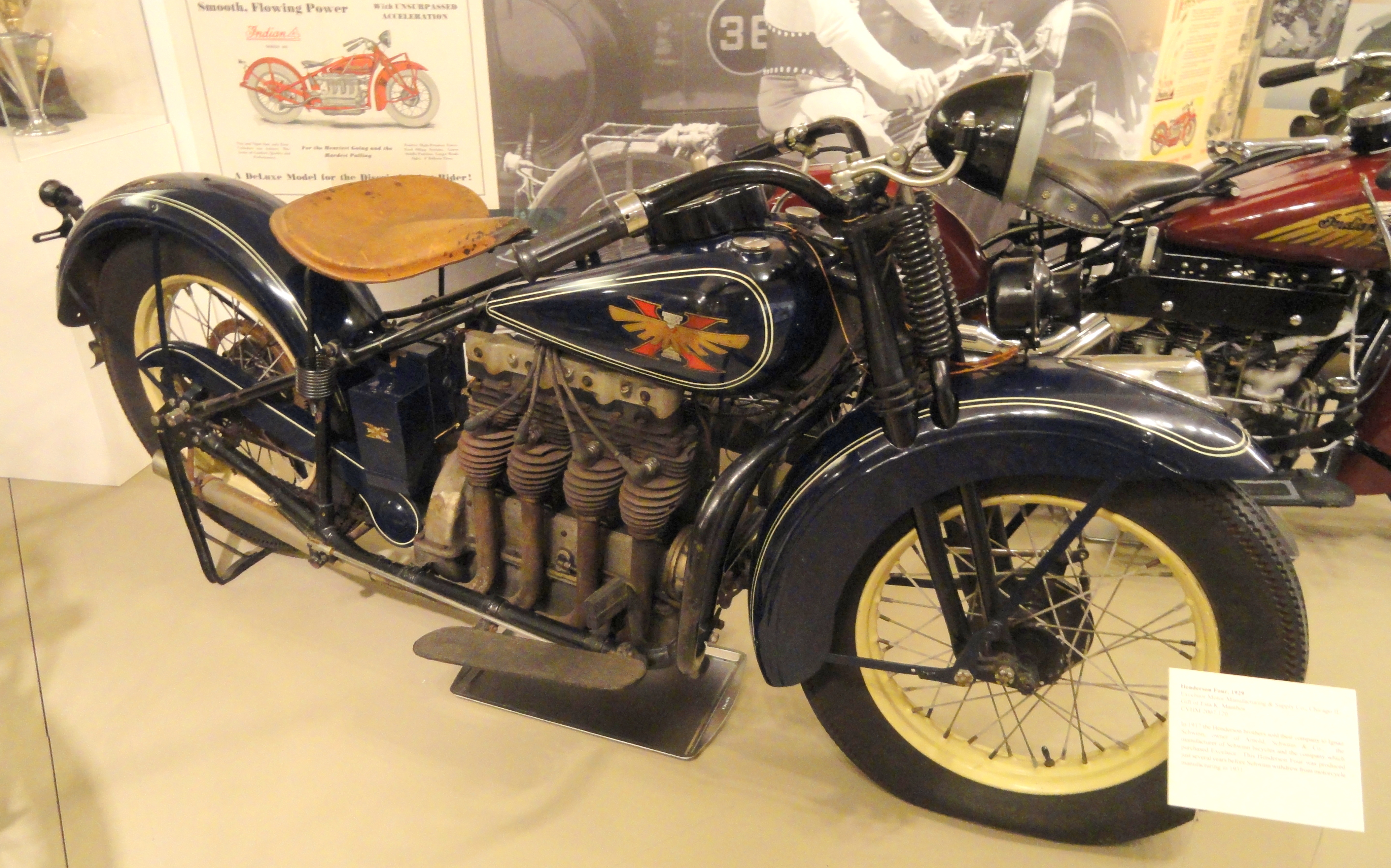 File 1929 Henderson Four Excelsior Motor Manufacturing