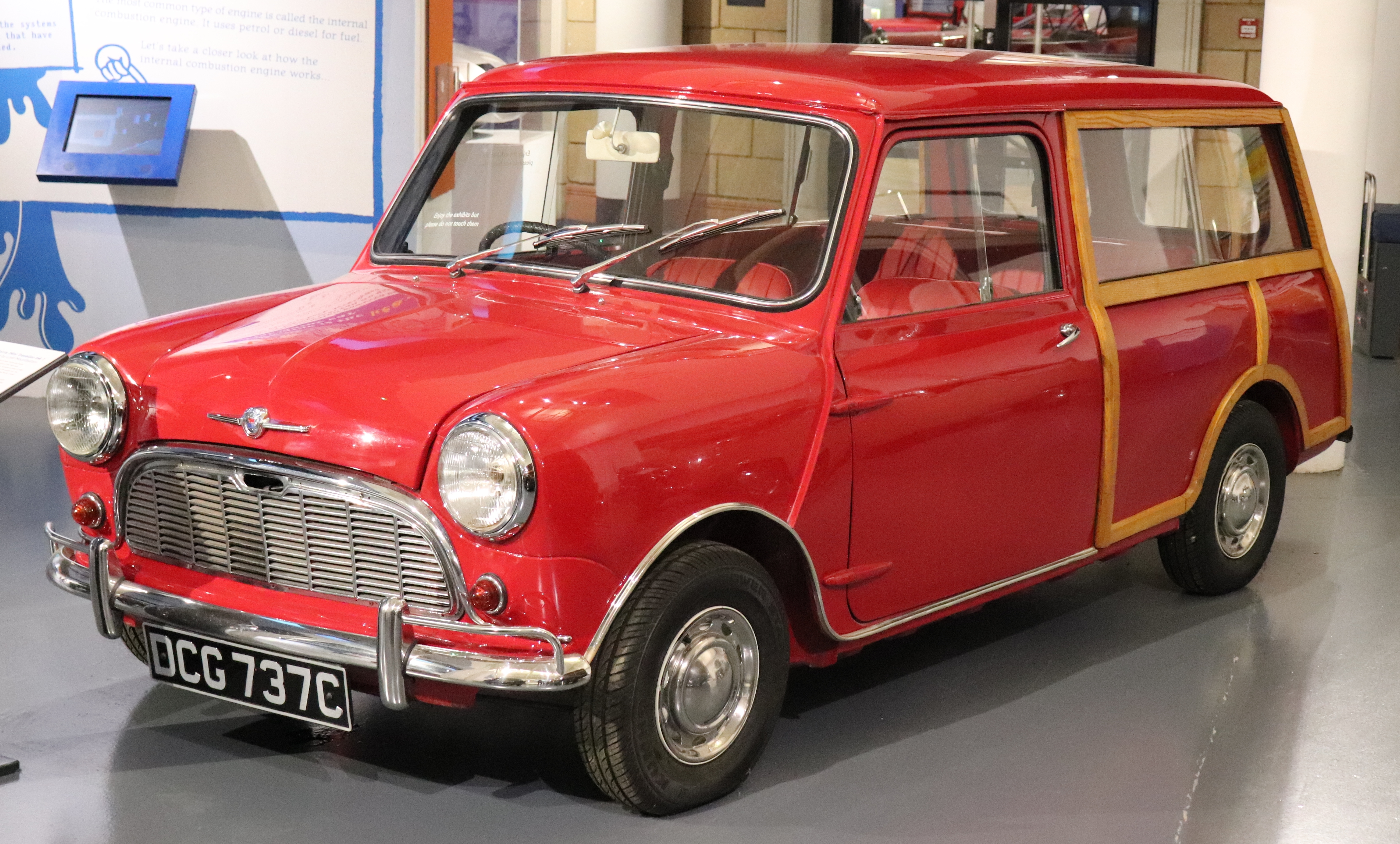File1965 Morris Mini Traveller Mark I 850cc Frontjpg Wikimedia