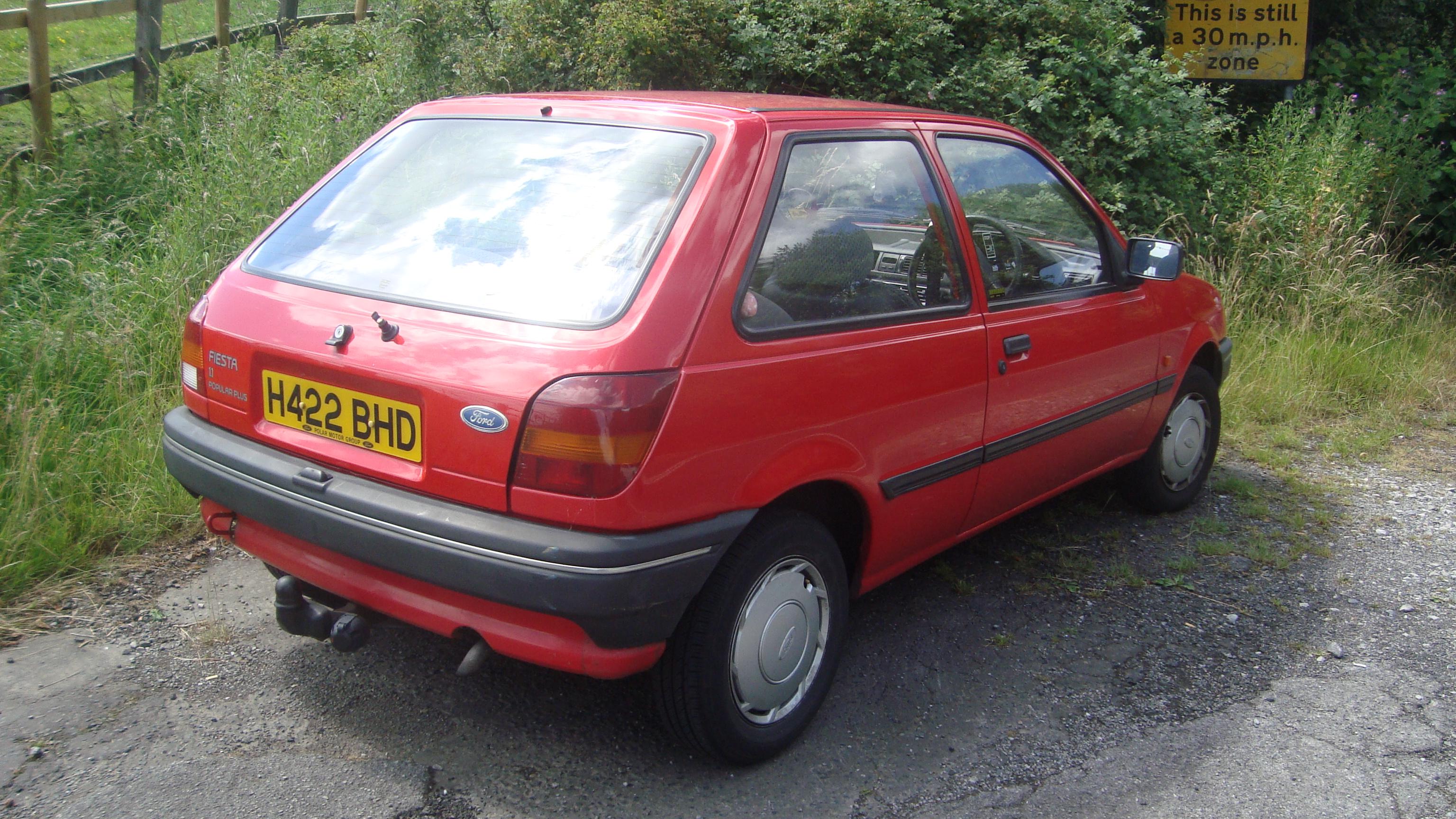 старый форд фиеста фото #10