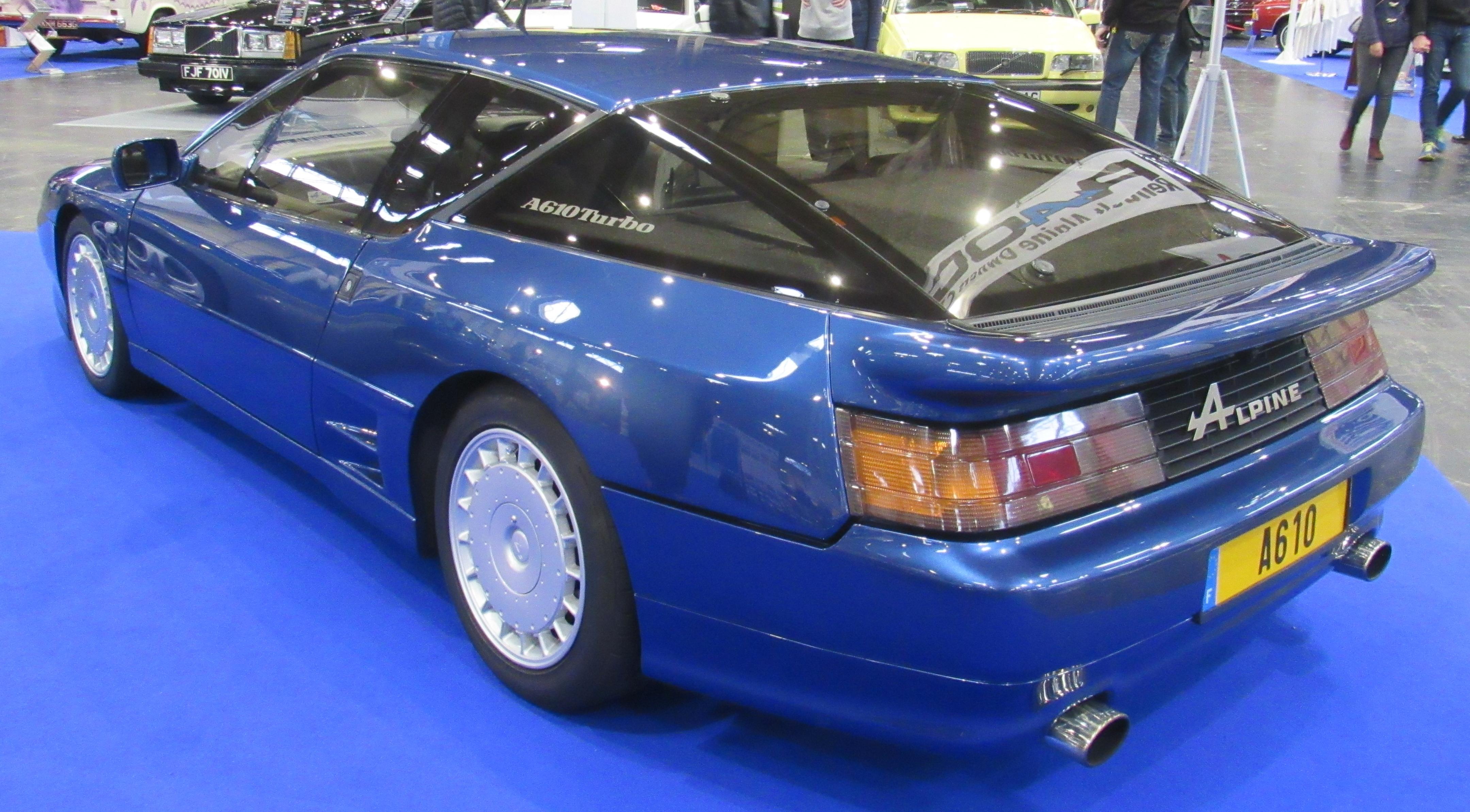 Renault Alpine GTA/A610 - Wikipedia