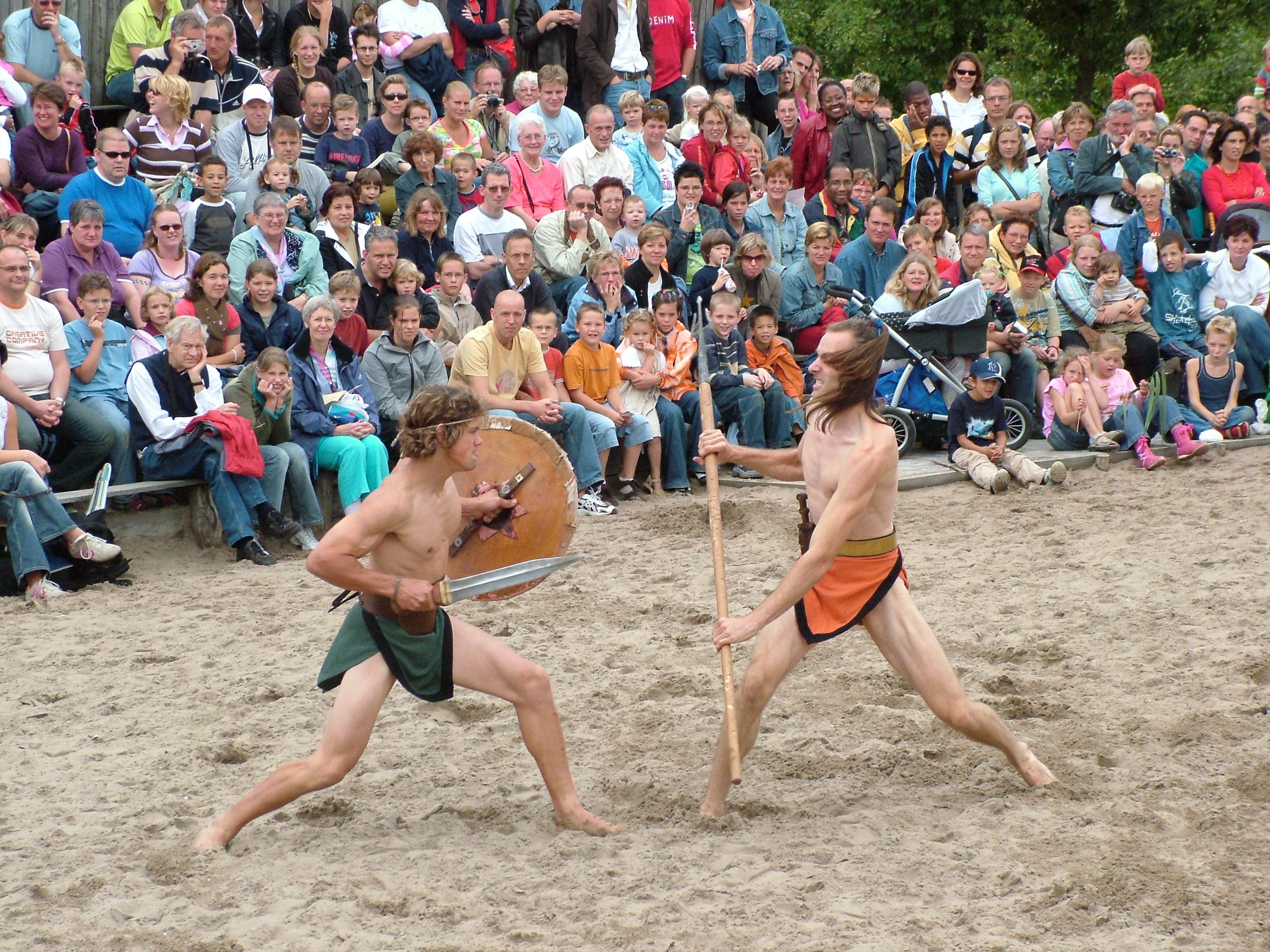 Weibliche Gladiatoren