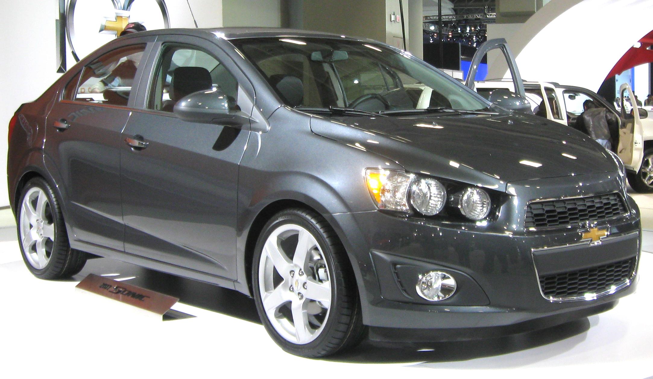 File 2012 Chevrolet Sonic Ltz Sedan Front 2011 Dc Jpg