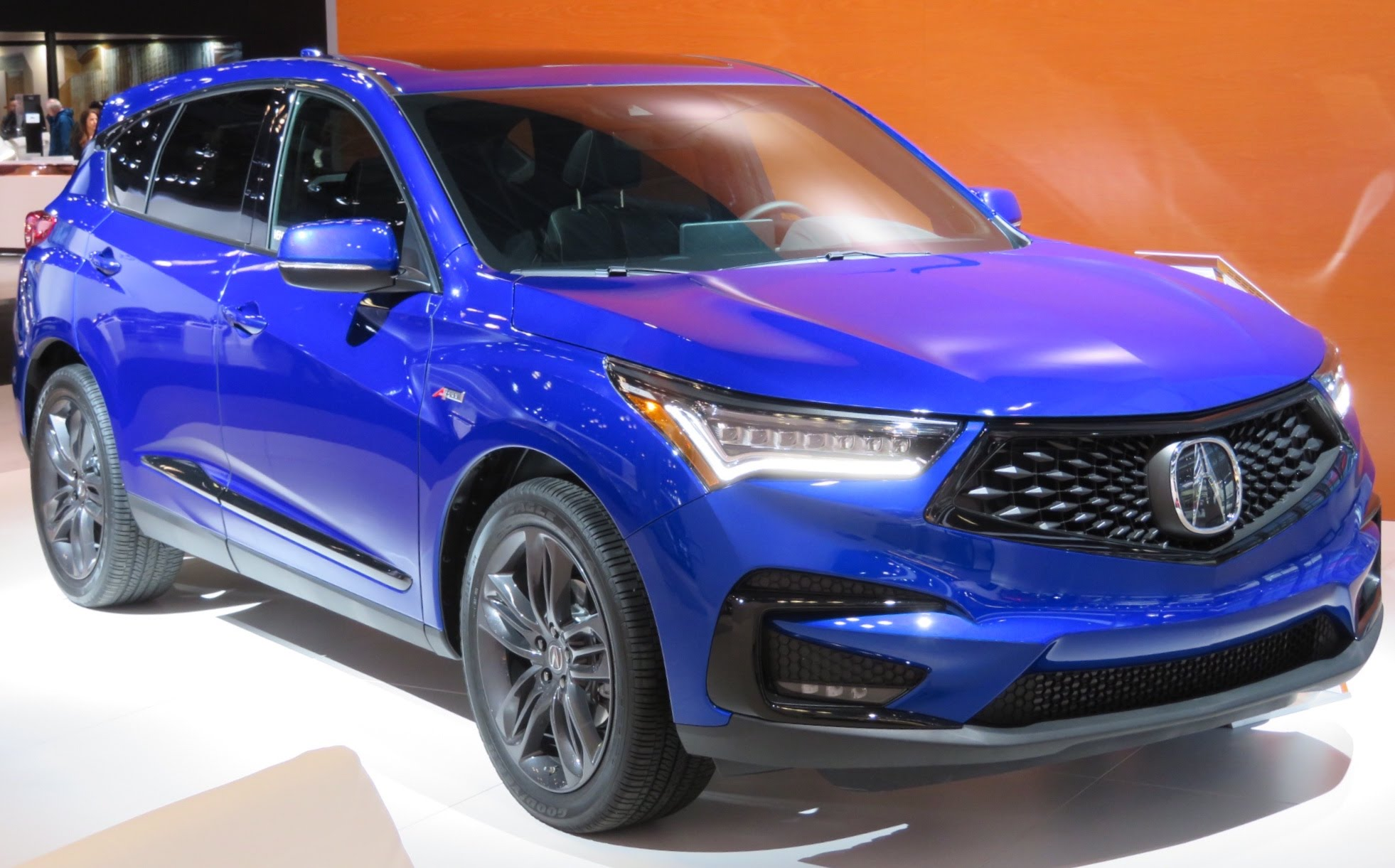 File 2019 Acura Rdx A Spec Front Blue 4 2 18 Jpg Wikimedia Commons