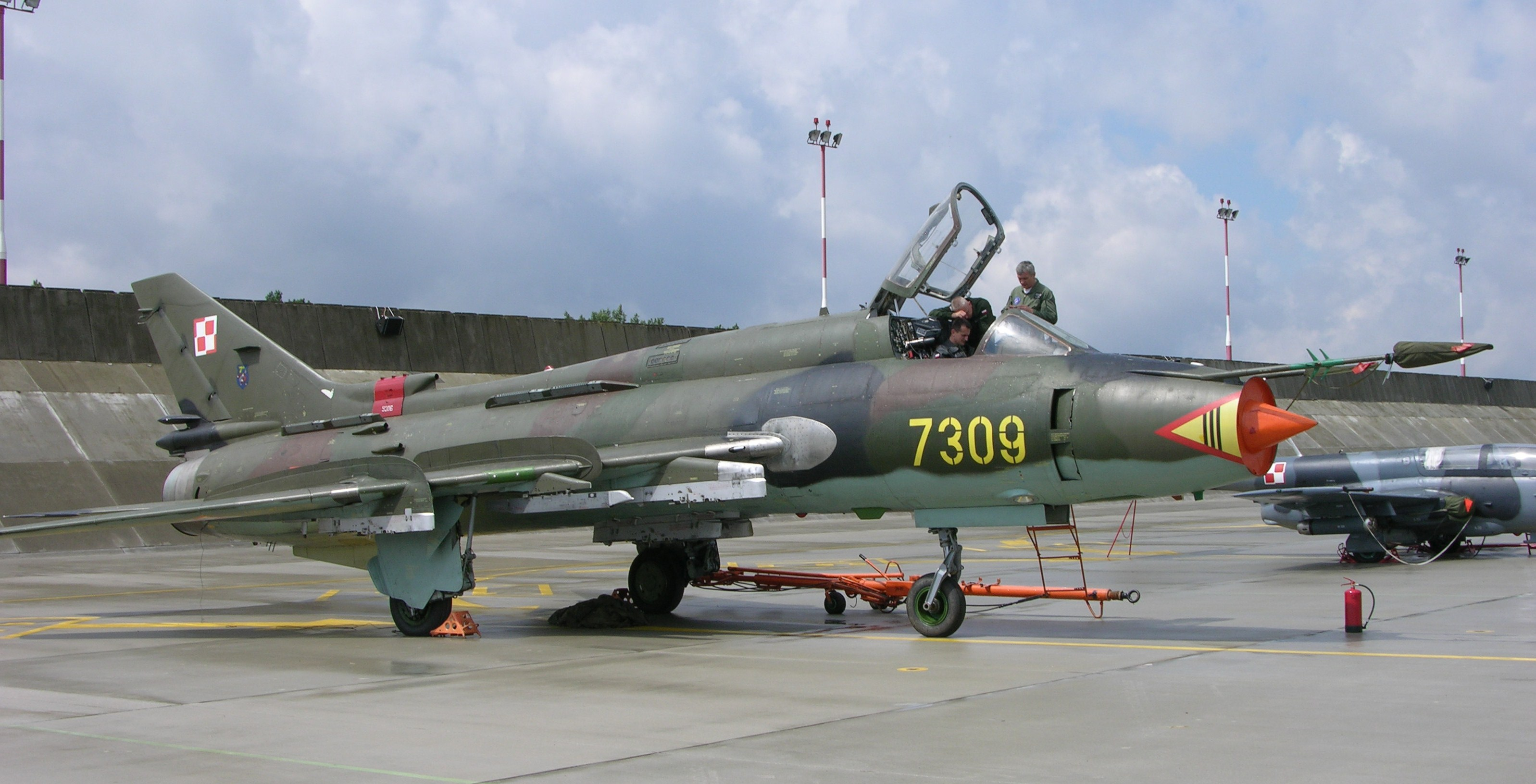 File 7309 A Sukhoi Su 22m 4 Fitter K Of Polish Air Forces