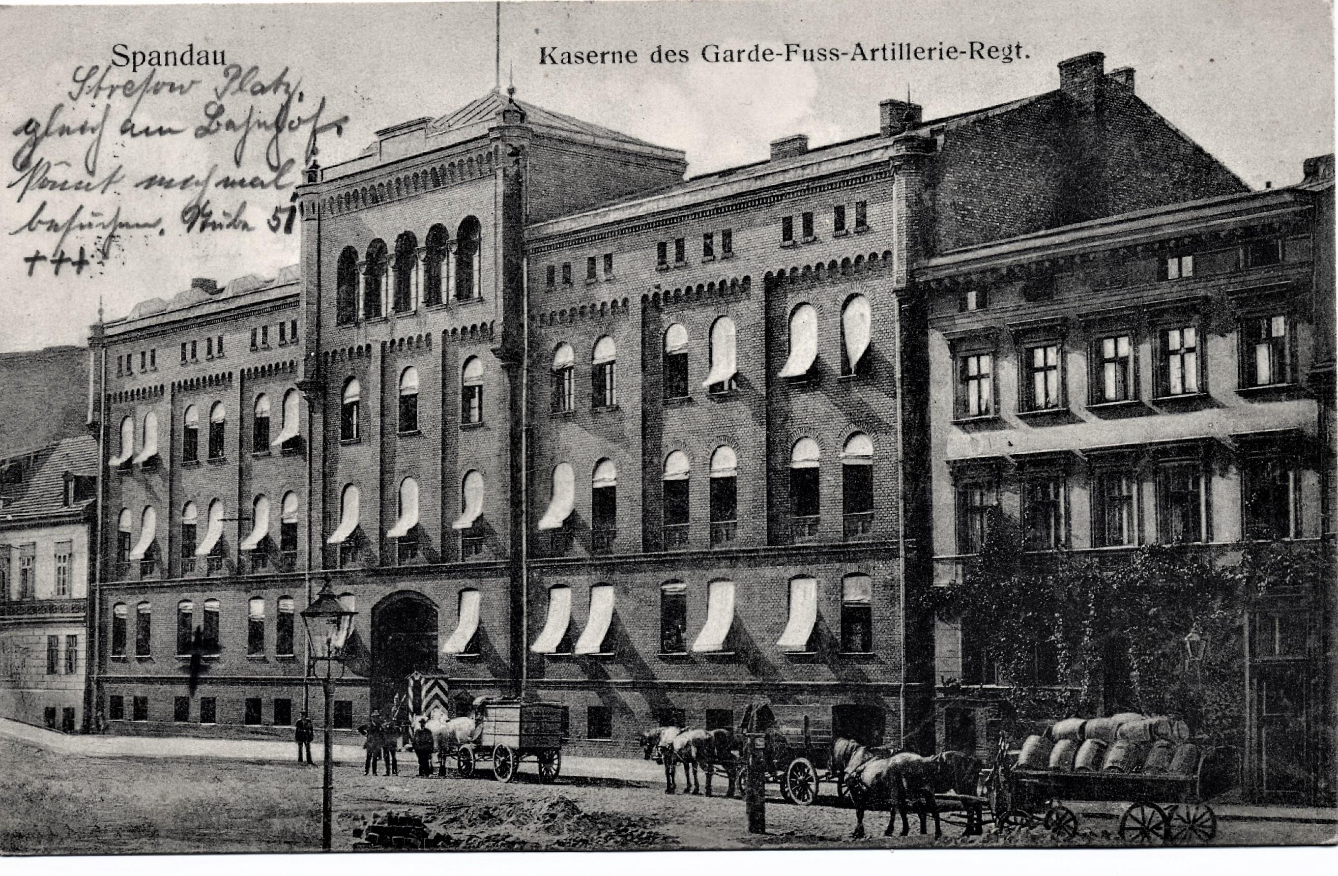 Ak Berlin file ak berlin spandau kaserne 1913 jpg wikimedia commons
