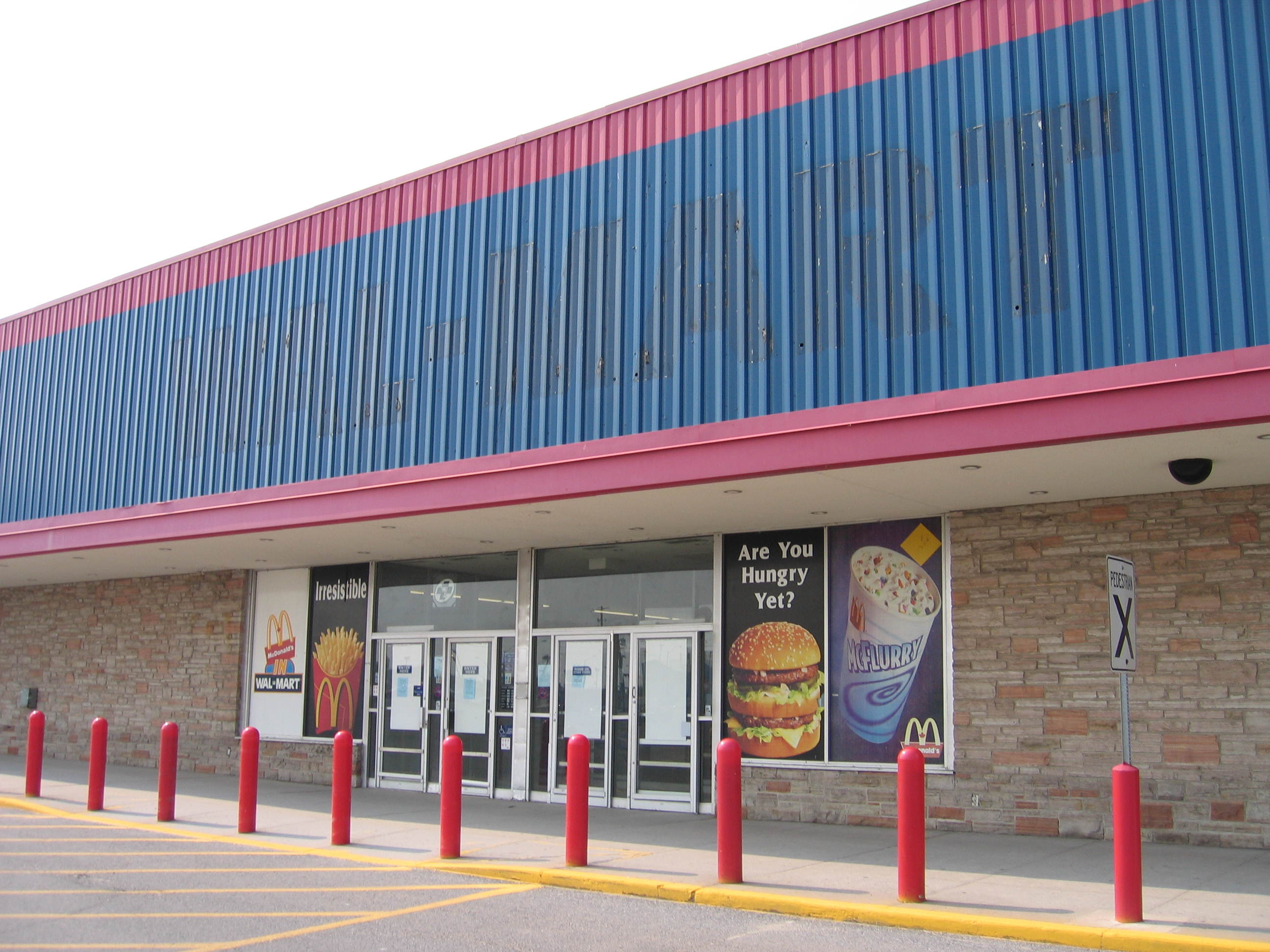 File Abandoned Wal Mart In Kingston Ontario Canada Exterior Jpg