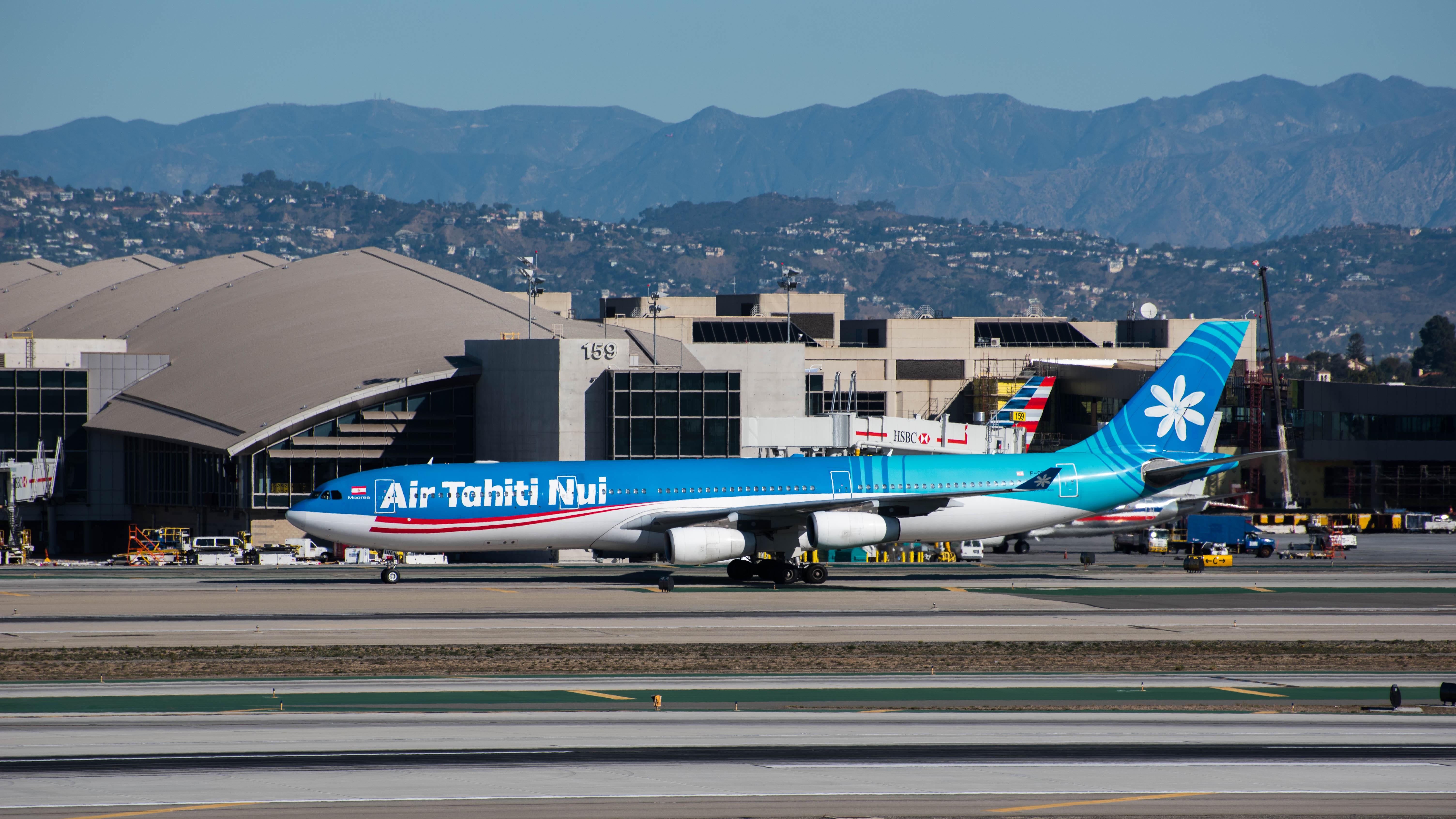 File:Air Tahiti Nui Airbus A340 at LAX (22747769210) jpg - Wikimedia