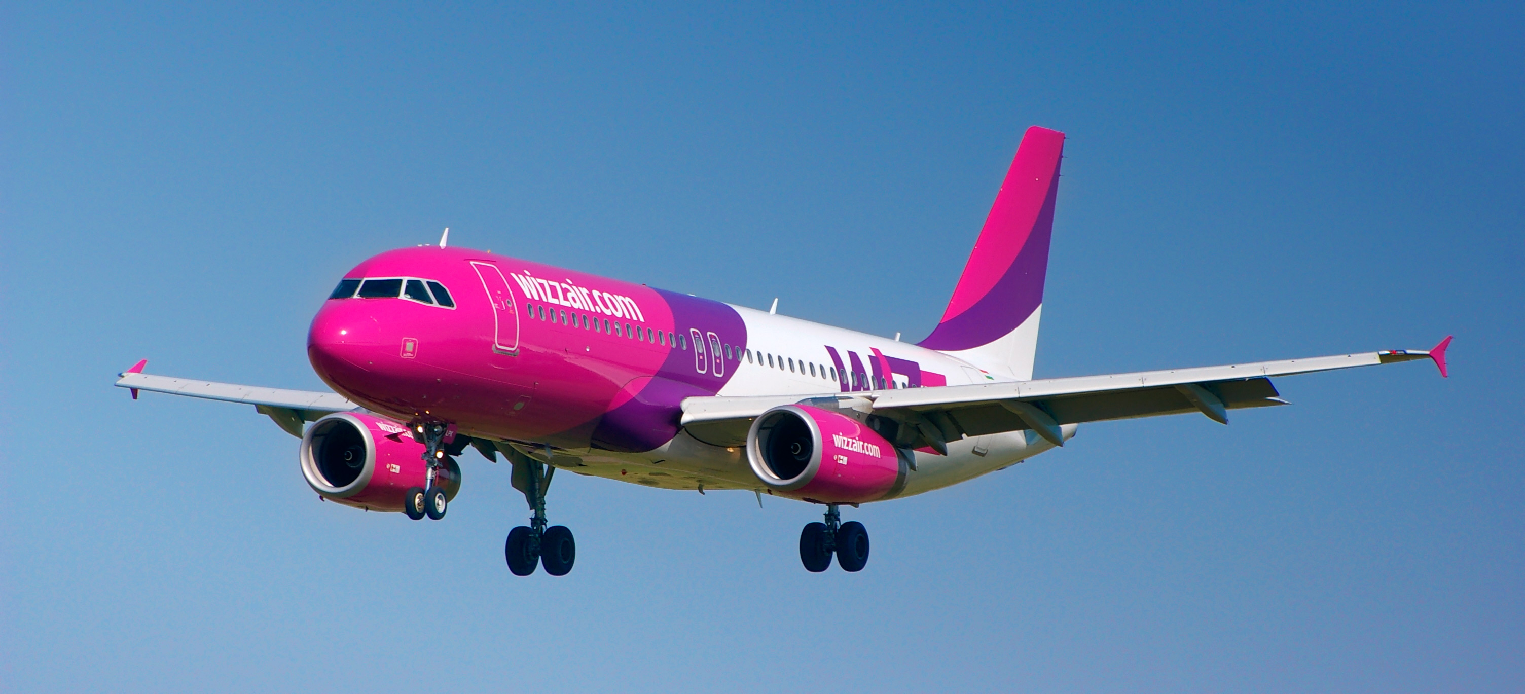 Airline Wizz Air (Wizz Air). Official sayt.2