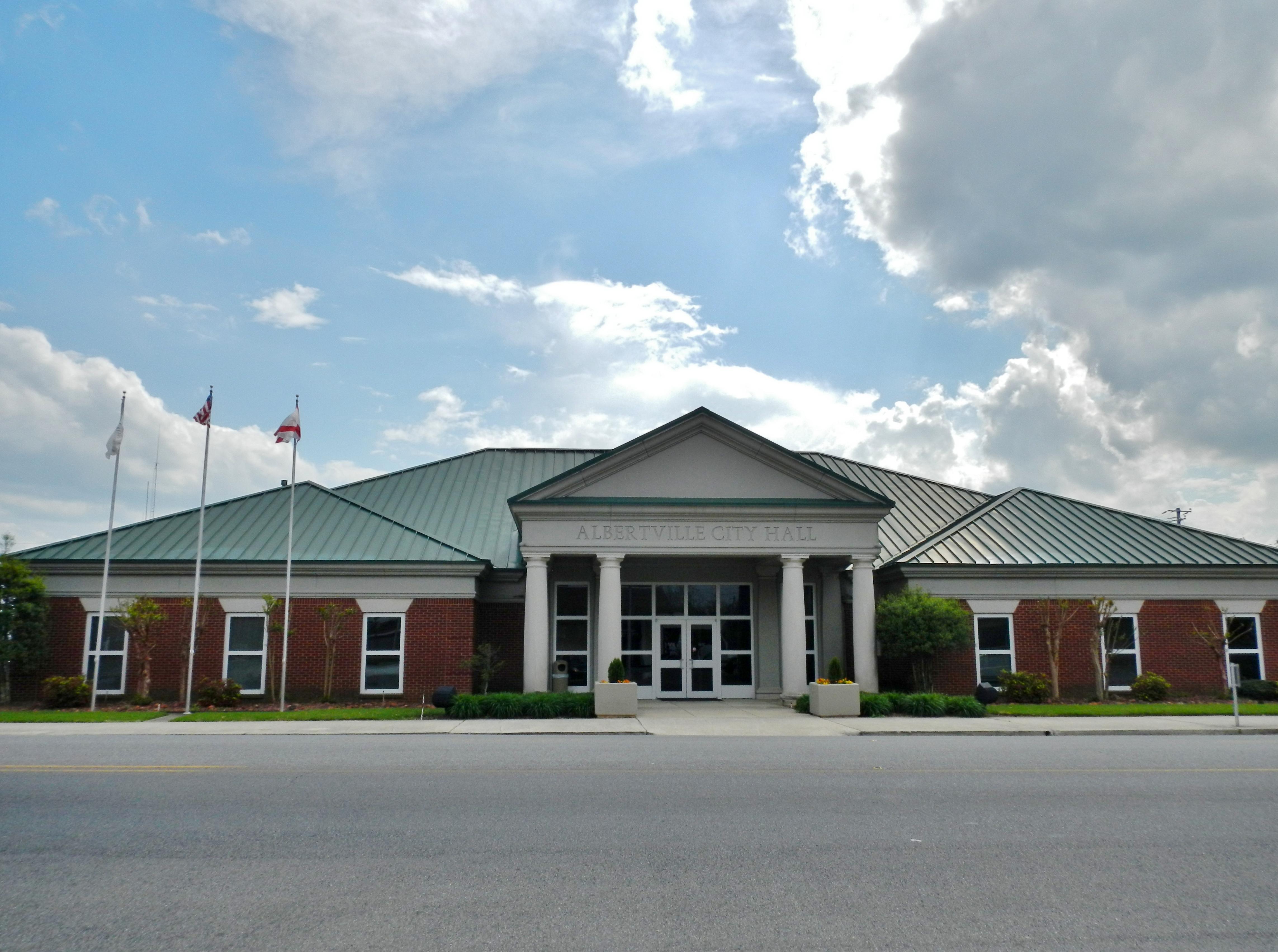 Colormaster albertville al - File Albertville Alabama City Hall Jpg