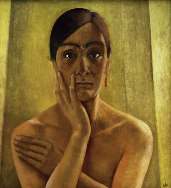 Self portrait (c.1929), Hamburger Kunsthalle